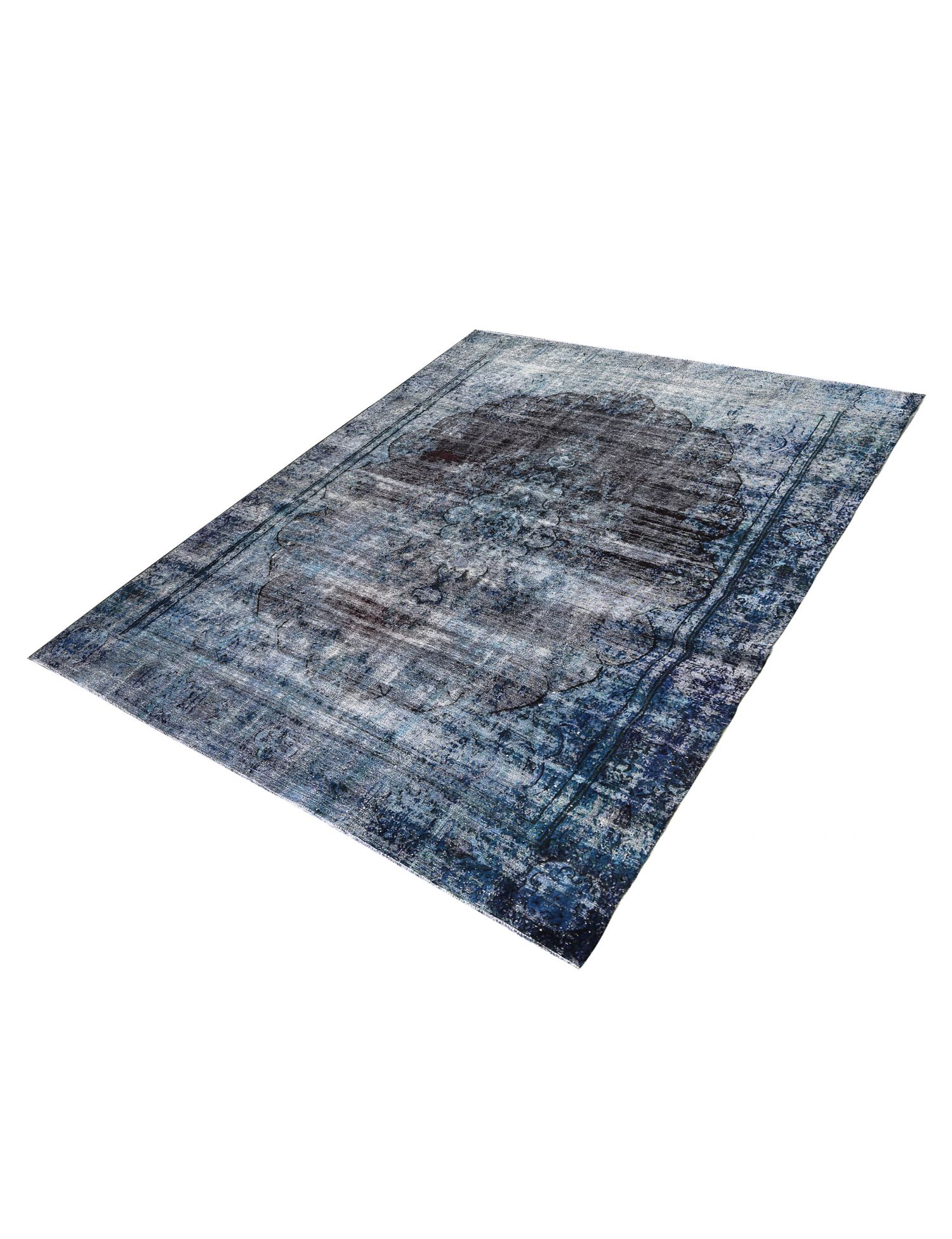 Tappeto Vintage  blu <br/>374 x 272 cm
