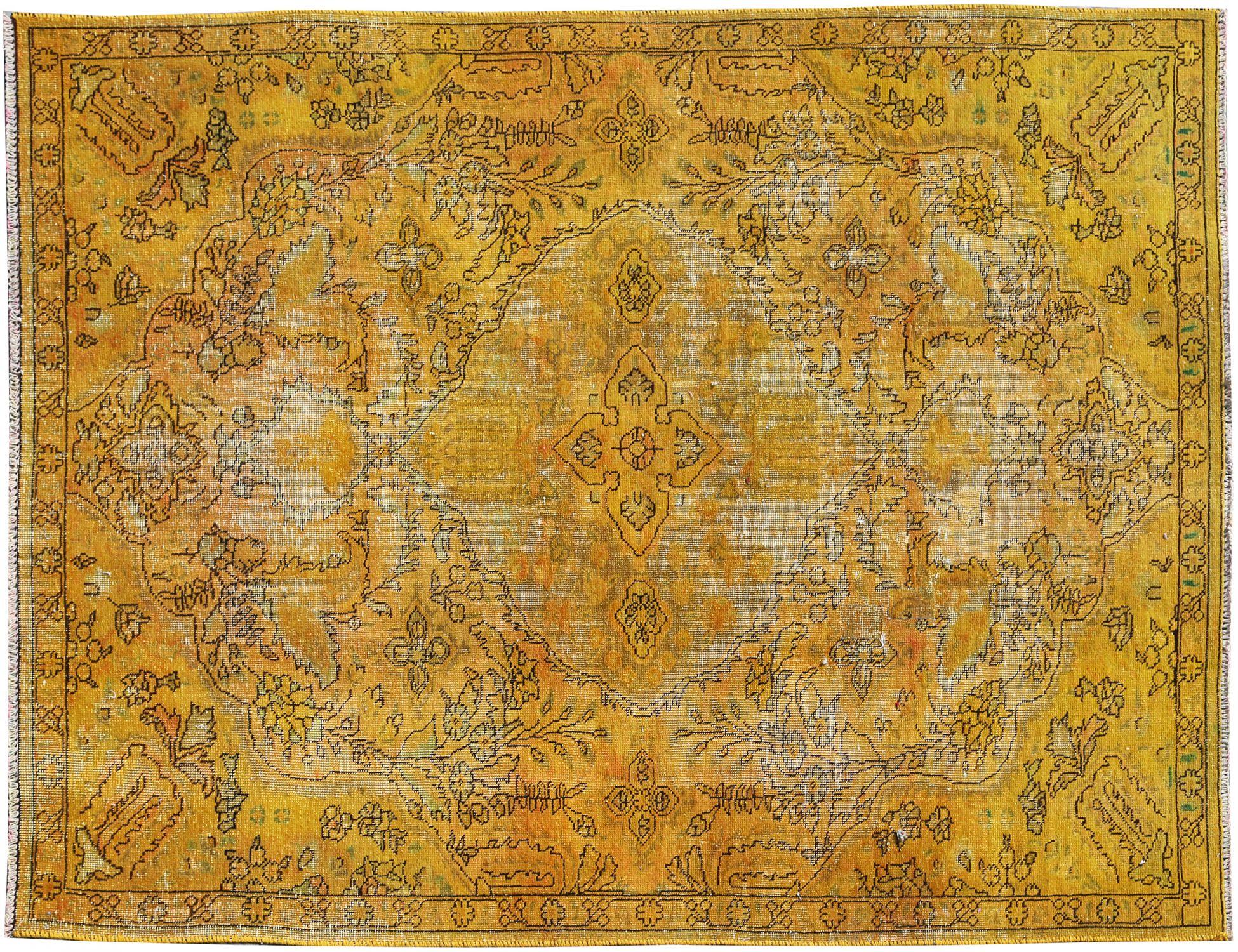 Tapis Vintage  jaune <br/>238 x 153 cm
