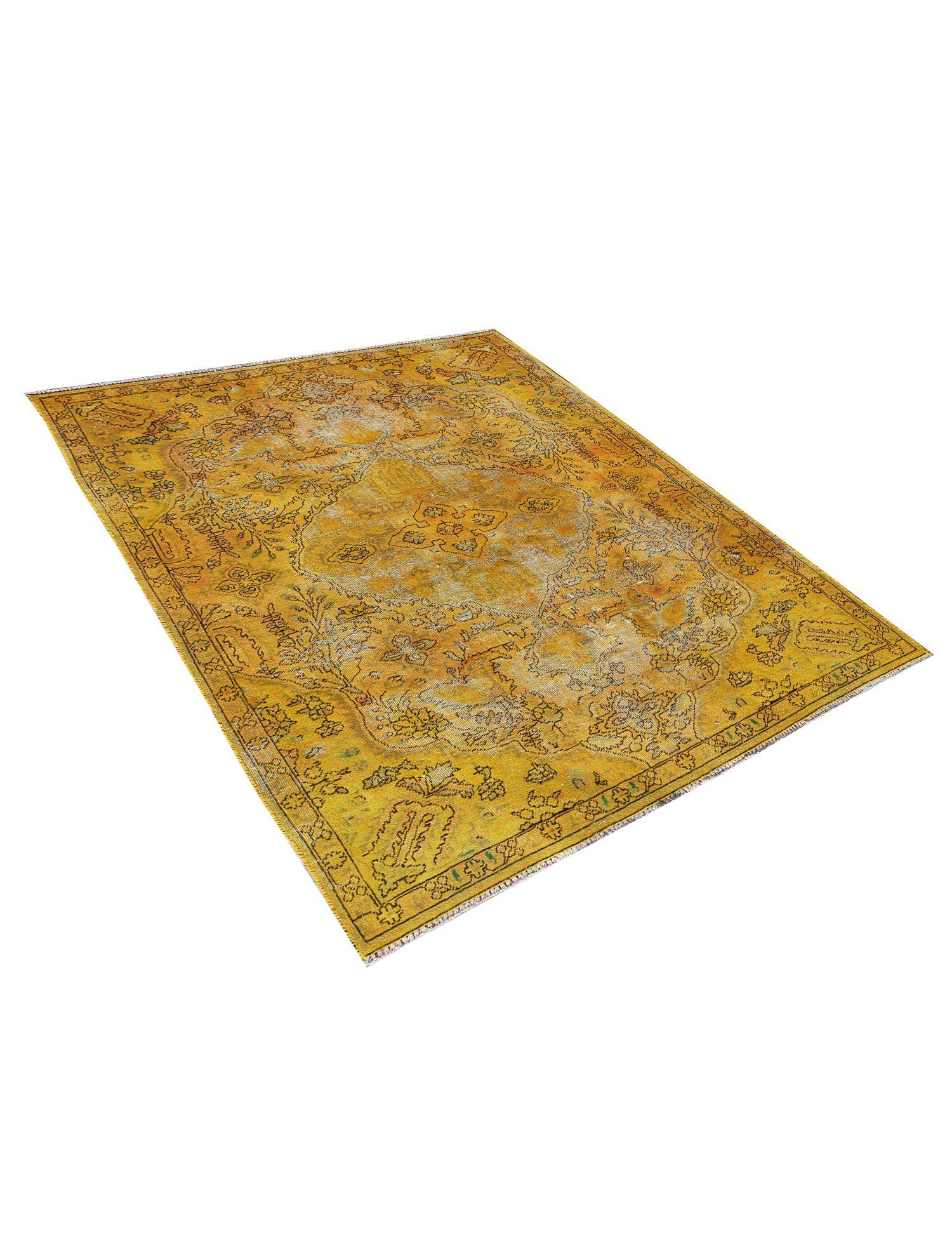 Tappeto Vintage  giallo <br/>238 x 153 cm