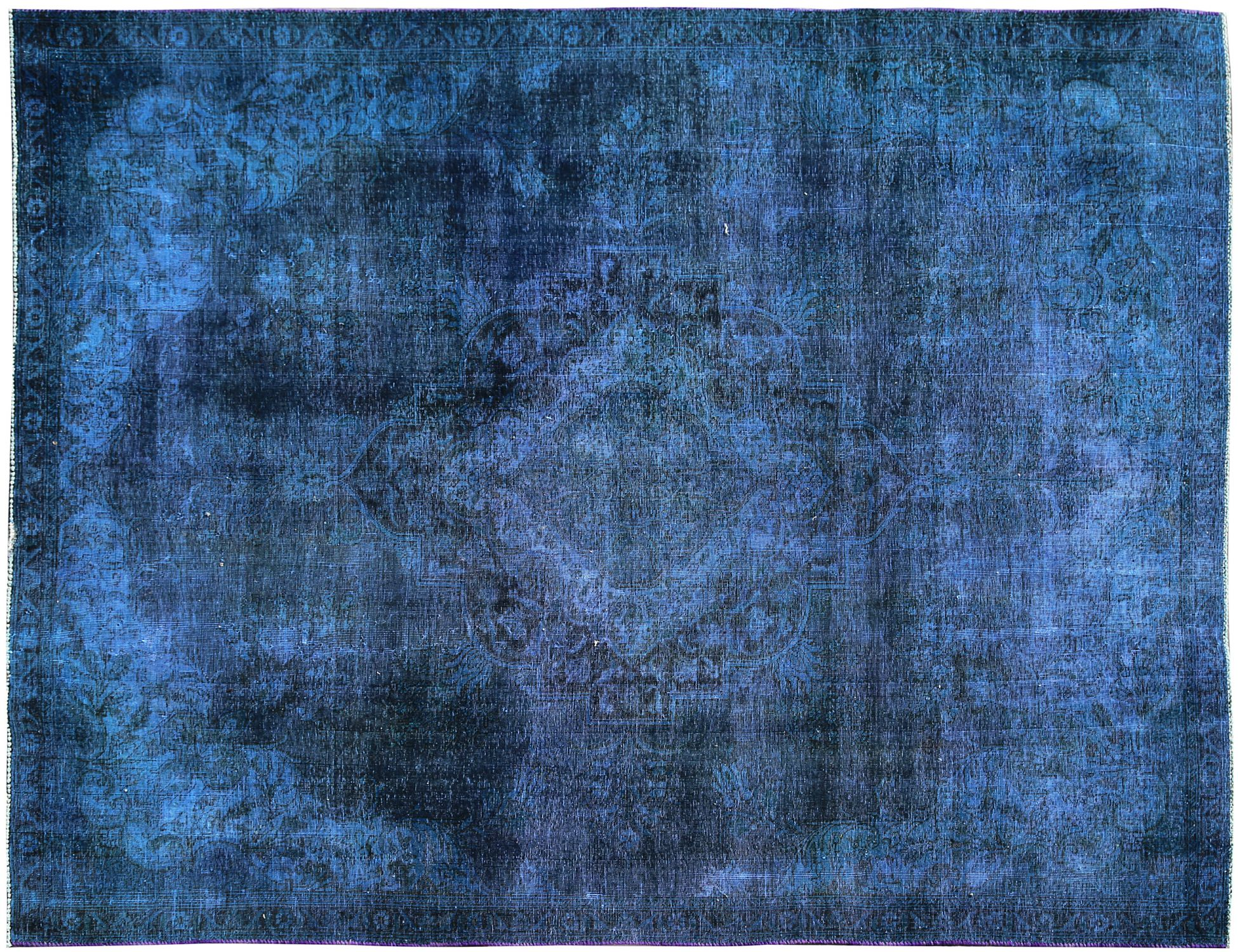 Tappeto Vintage  blu <br/>295 x 220 cm