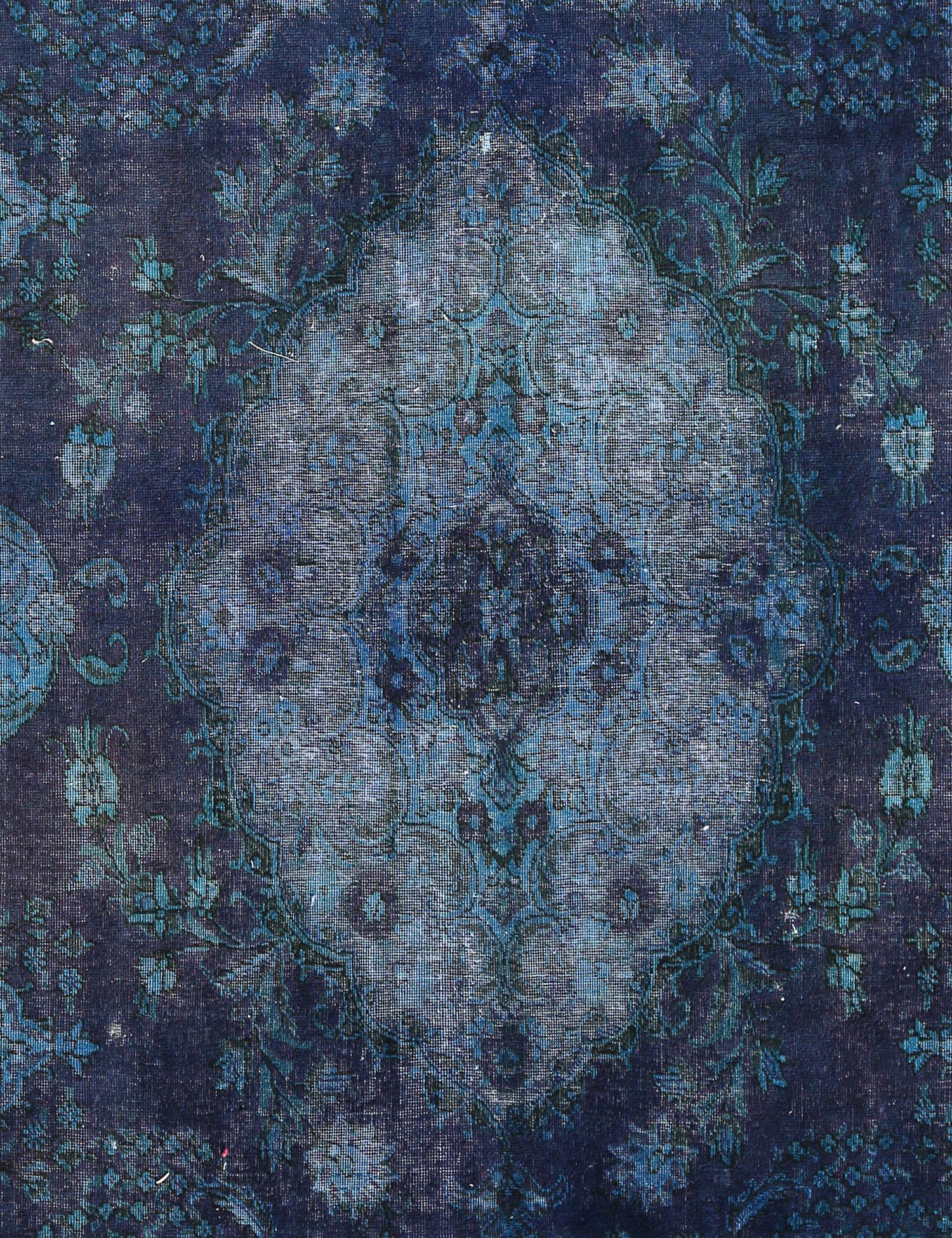 Tappeto Vintage  blu <br/>317 x 217 cm