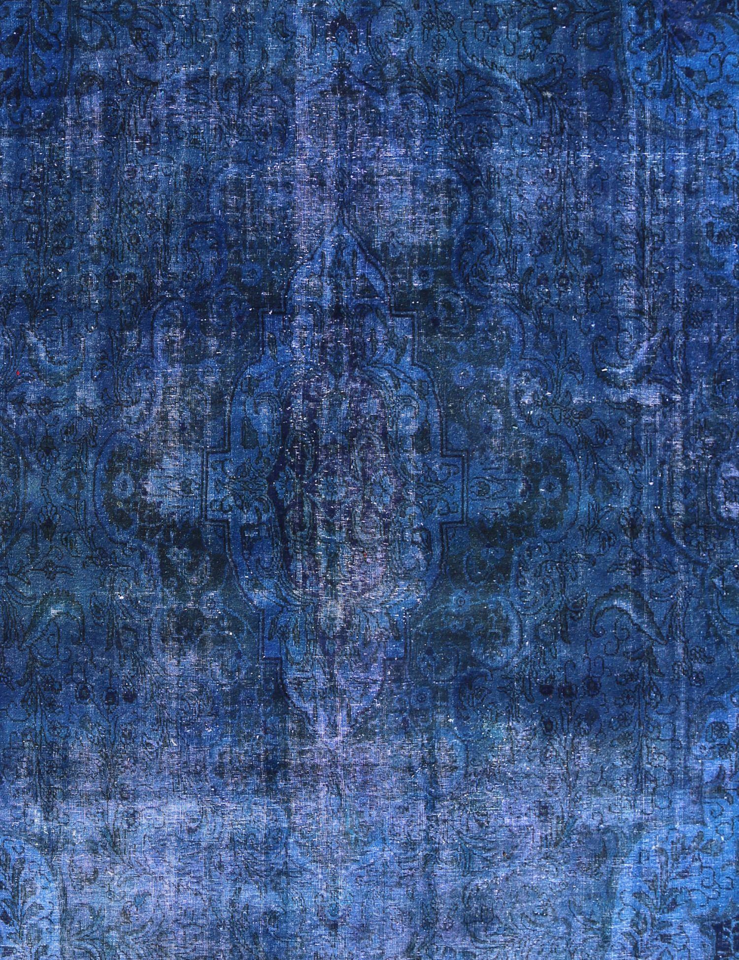 Vintage Teppich  blau <br/>450 x 306 cm
