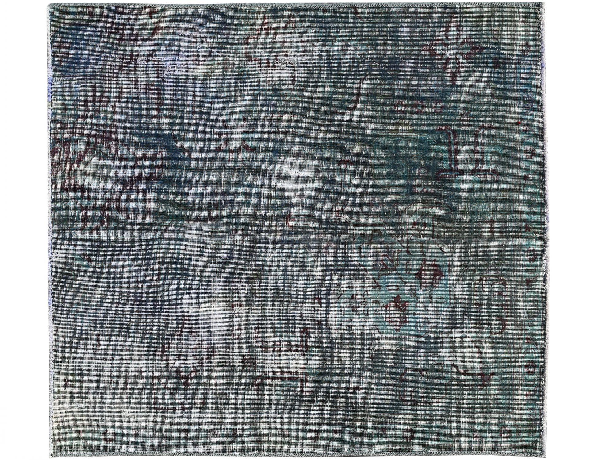 Tappeto Vintage  blu <br/>140 x 128 cm