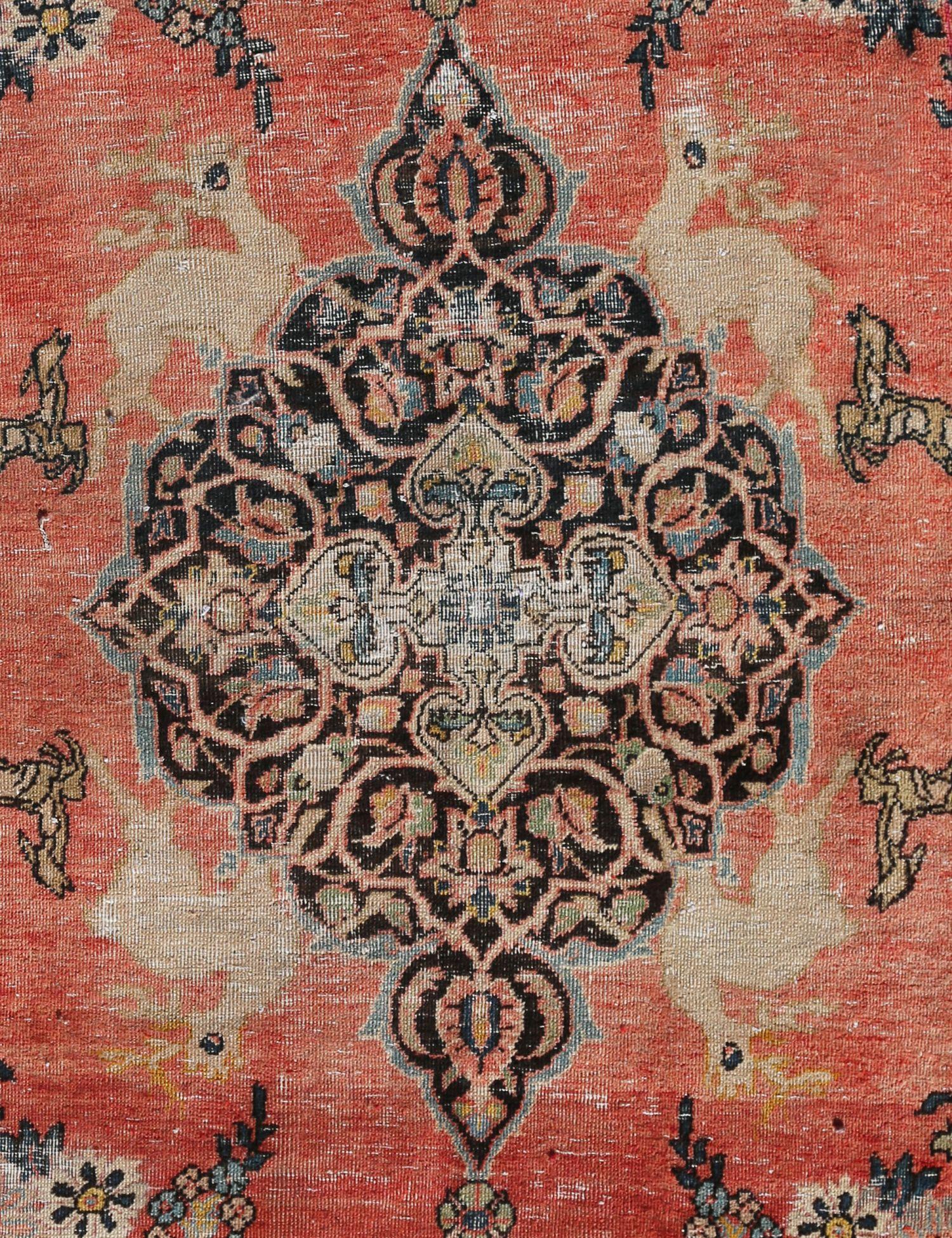 Retro Teppich  beige <br/>197 x 100 cm