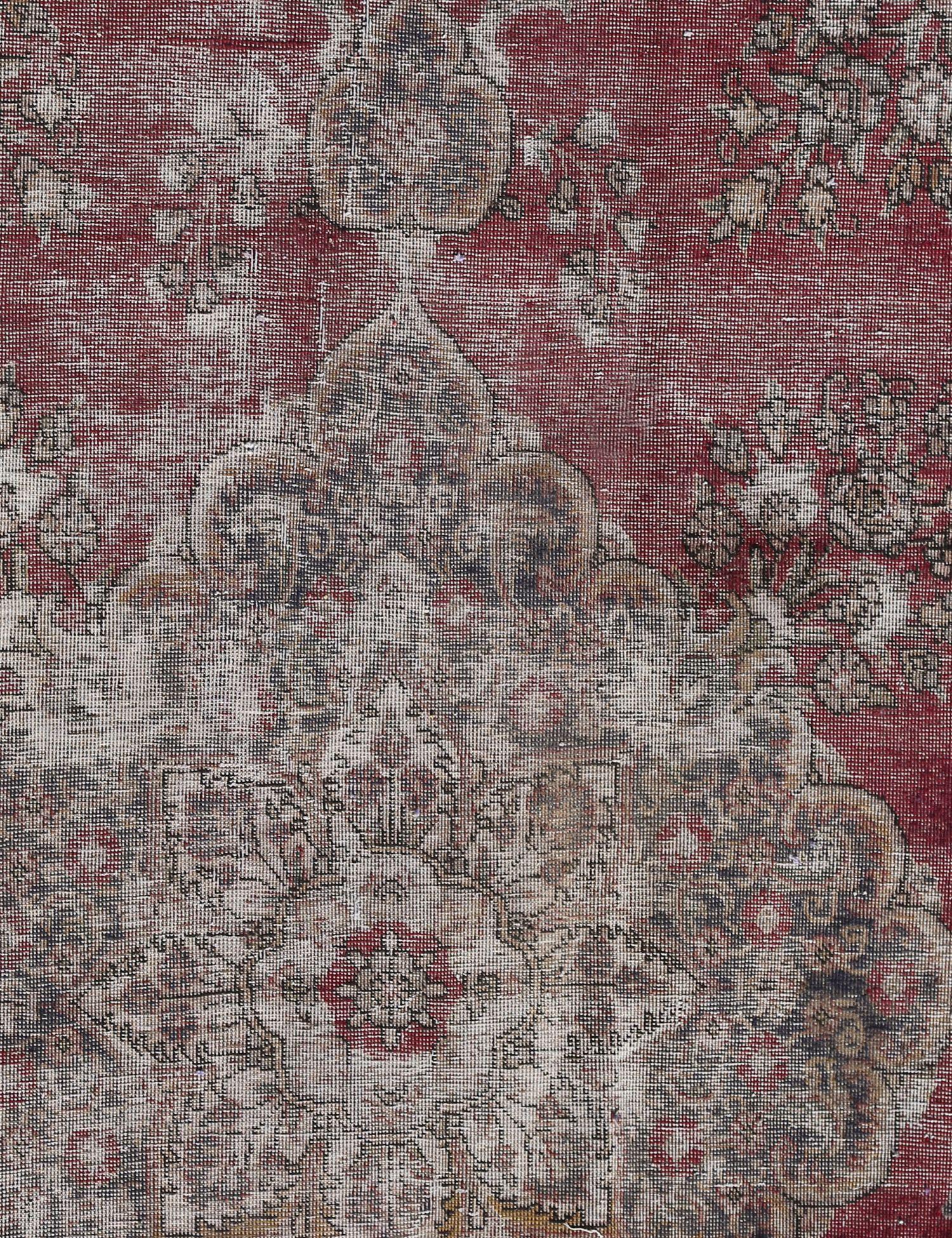 Retro Teppich  beige <br/>184 x 140 cm