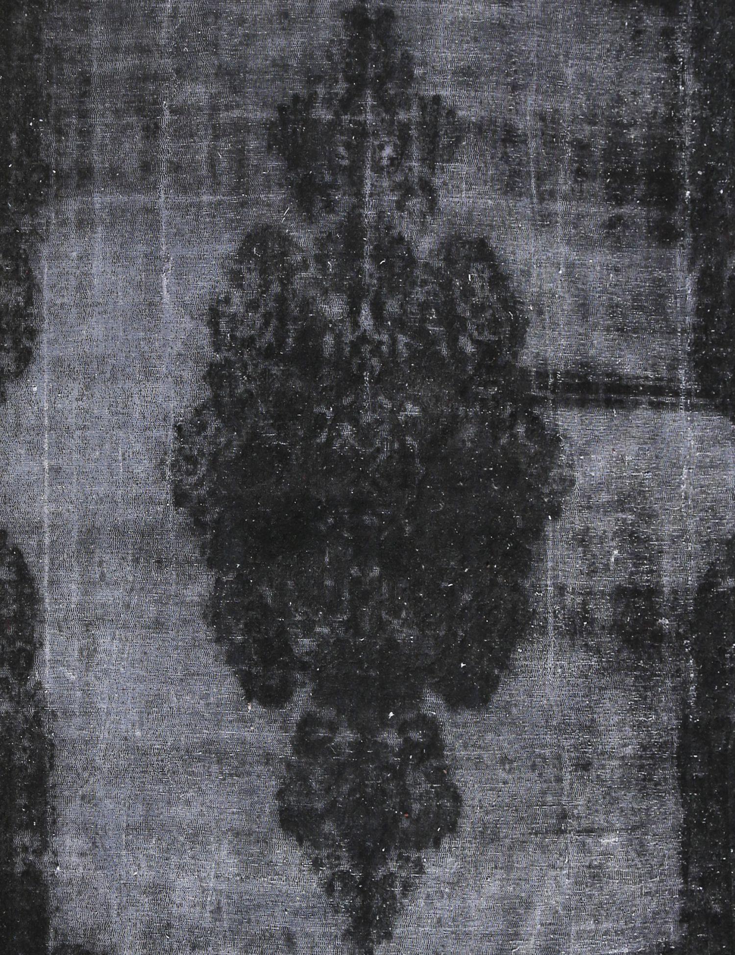 Tappeto Vintage  nero <br/>257 x 300 cm