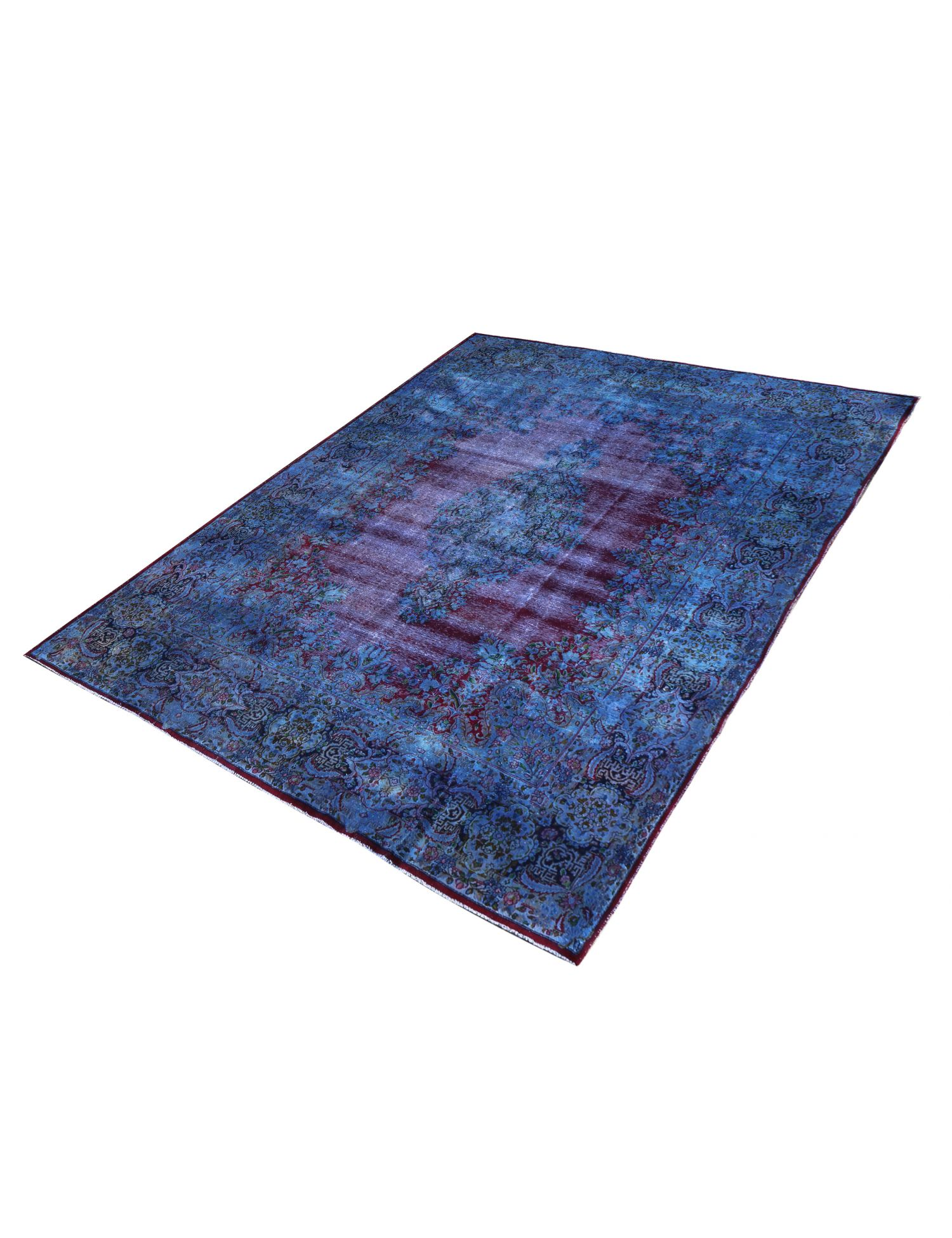 Vintage Teppich  blau <br/>409 x 300 cm