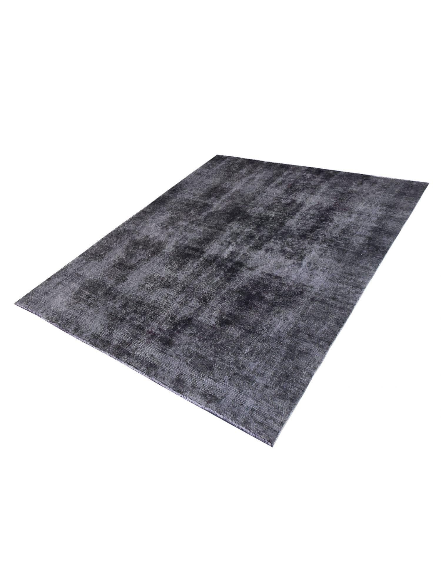 Vintage Teppich  schwarz <br/>251 x 216 cm