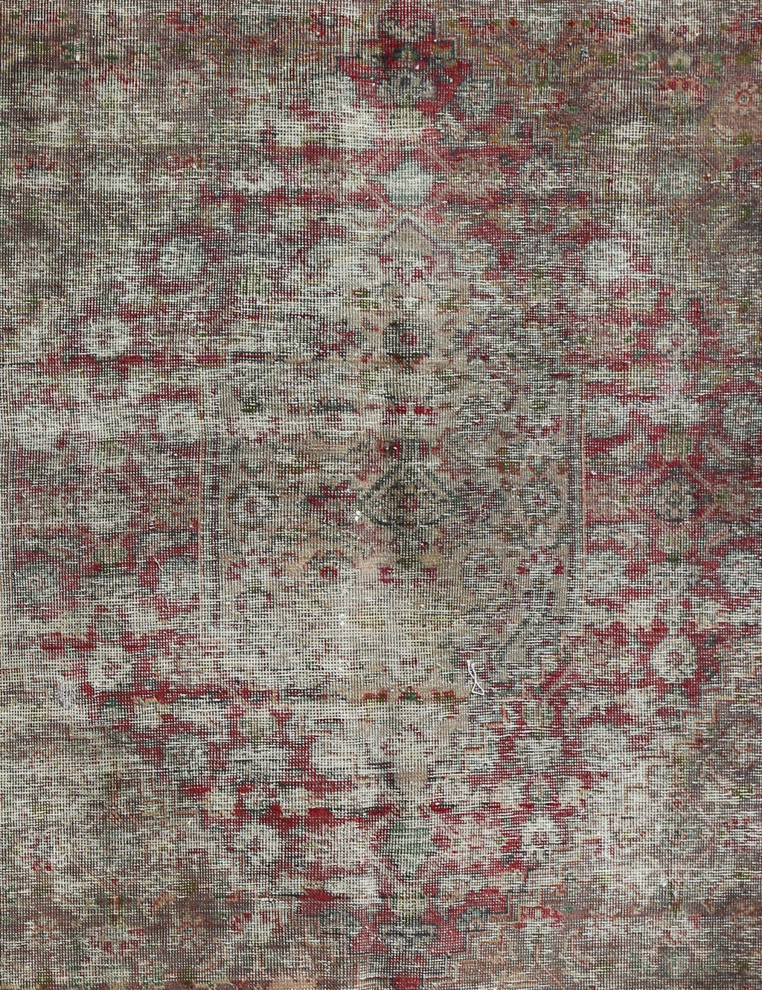 Retro Teppich  beige <br/>285 x 184 cm