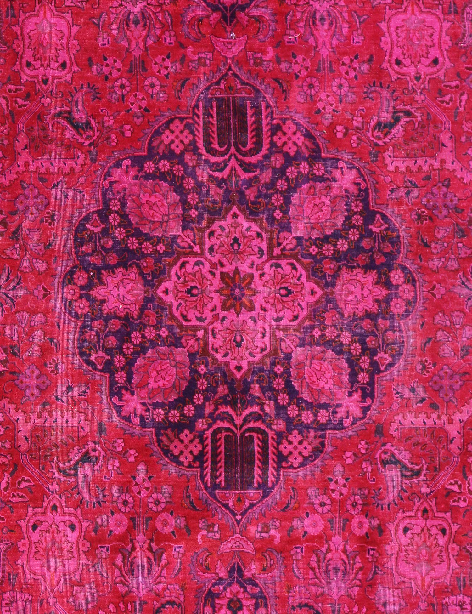 Vintage Teppich  rot <br/>311 x 220 cm