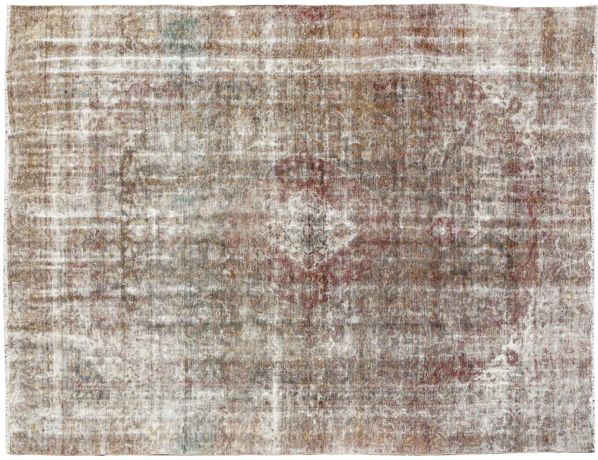 Retro Teppich  beige <br/>340 x 262 cm