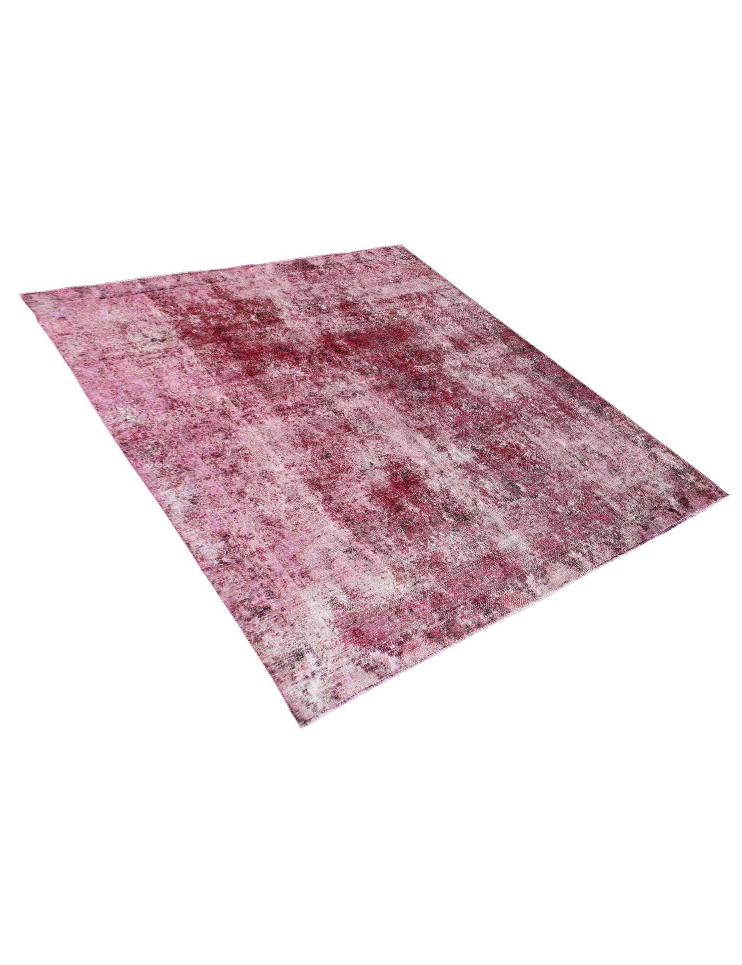 Vintage Teppich  rosa <br/>275 x 267 cm