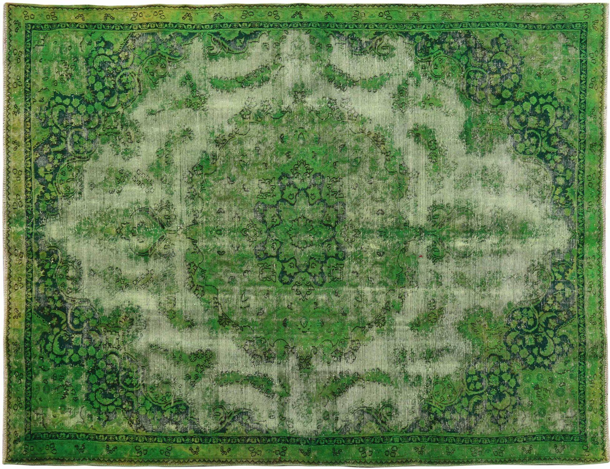 Tapis Vintage  vert <br/>300 x 210 cm