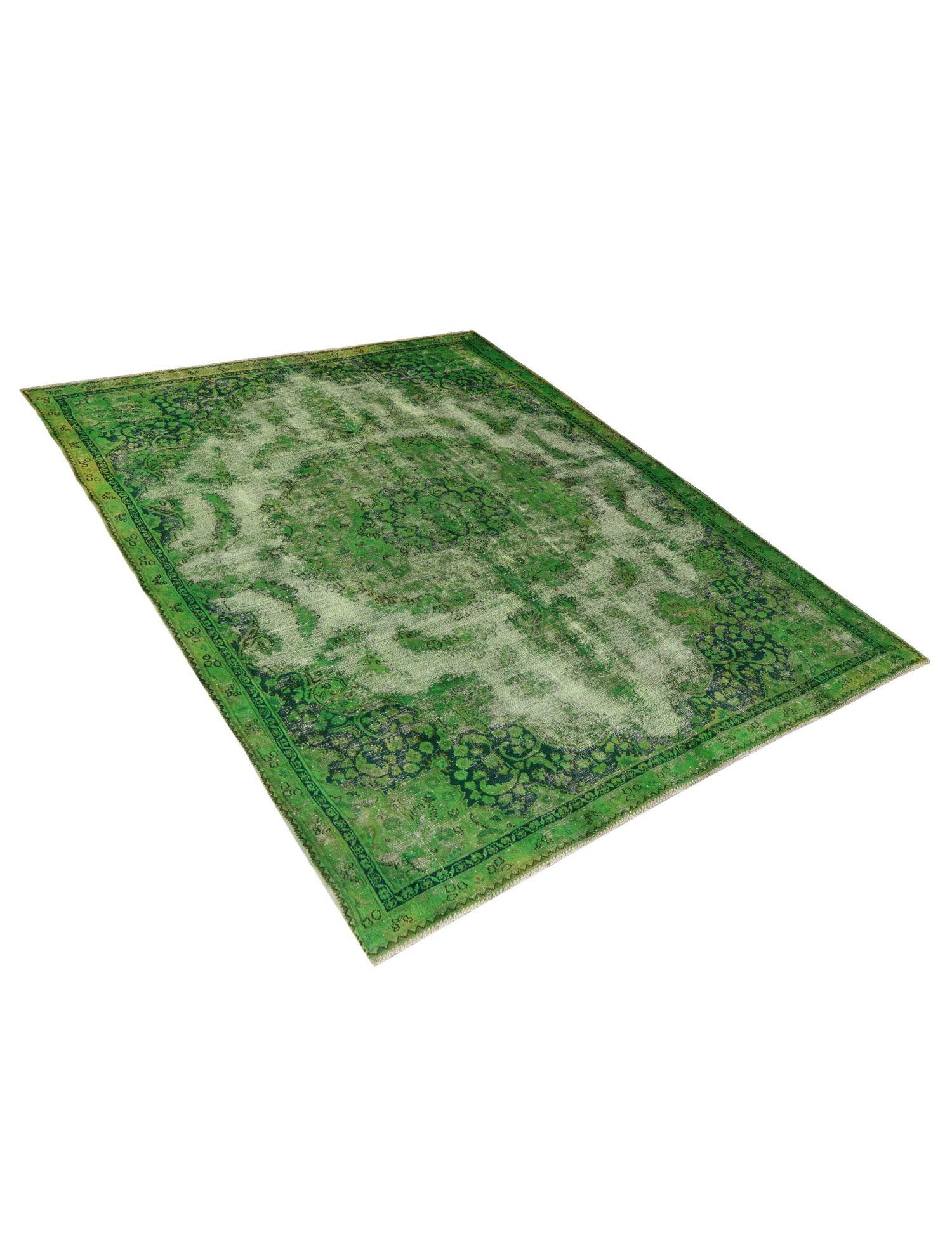 Vintage Teppich  grün <br/>300 x 210 cm