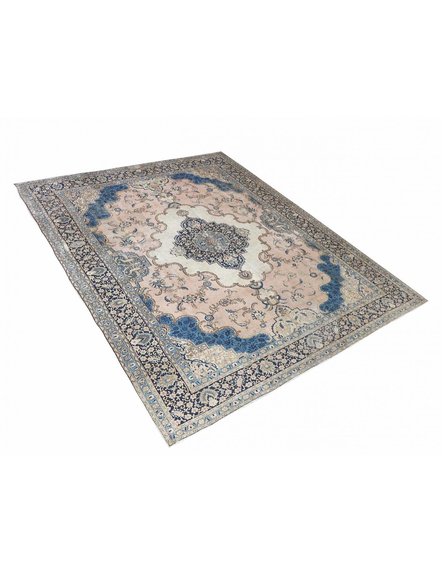 Retro Teppich  blau <br/>405 x 305 cm