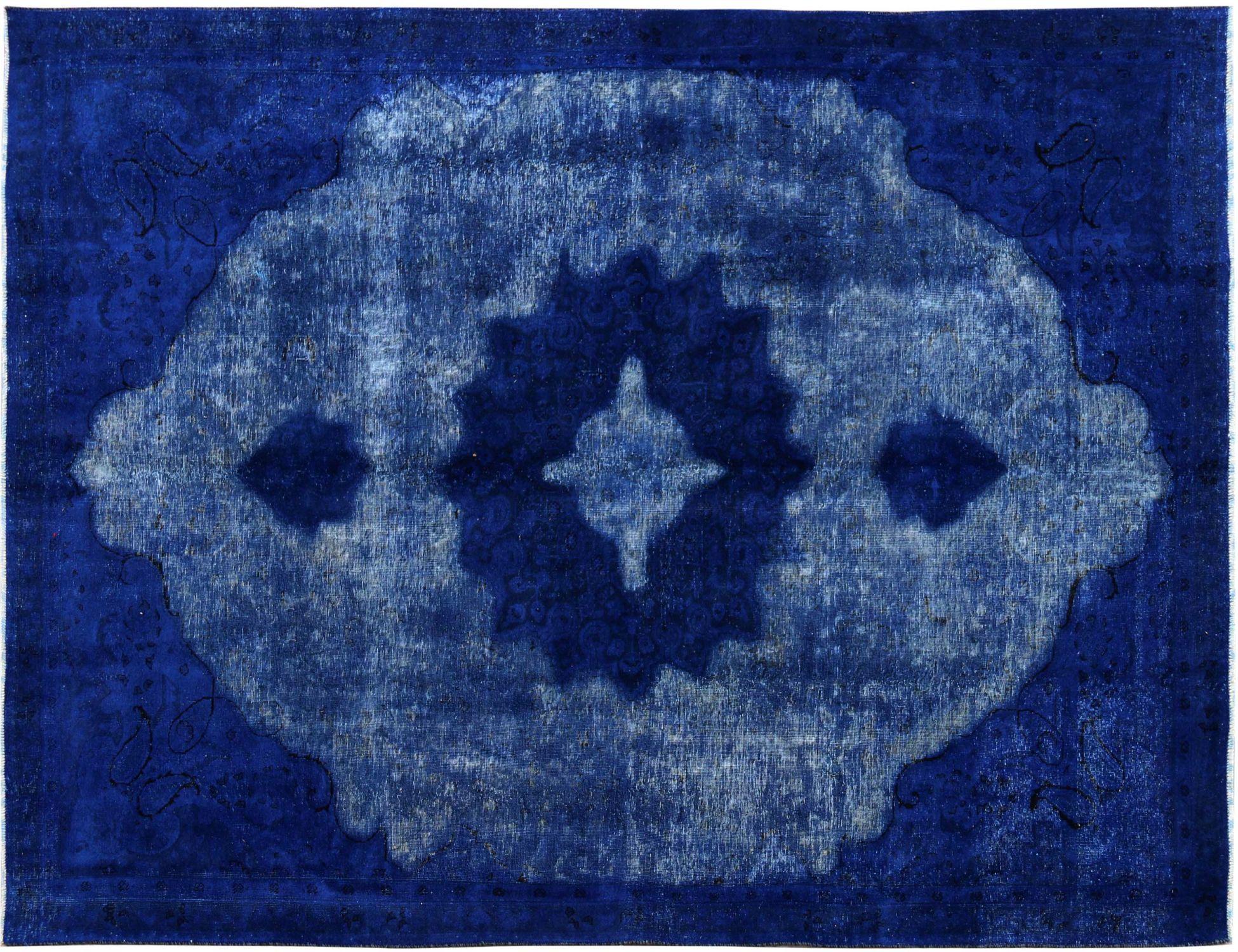 Tappeto Vintage  blu <br/>327 x 230 cm