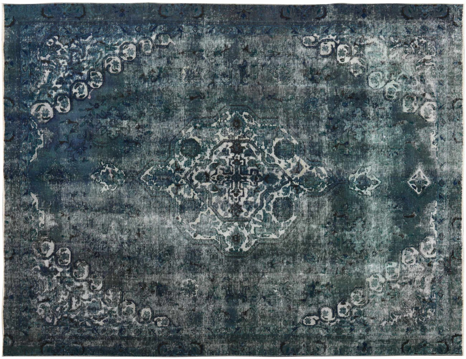 Tappeto Vintage  blu <br/>332 x 262 cm