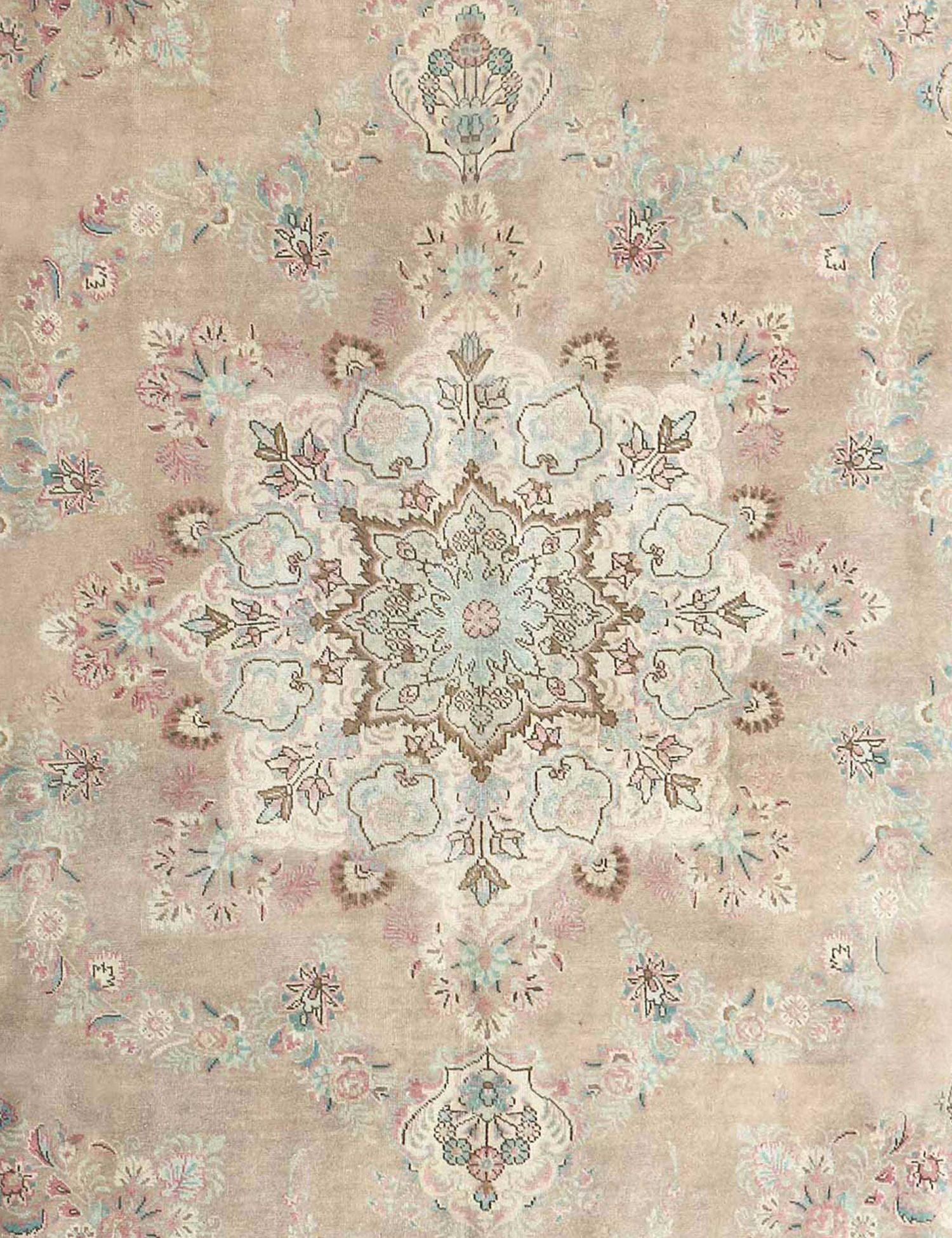 Retro Perserteppich  beige <br/>390 x 295 cm