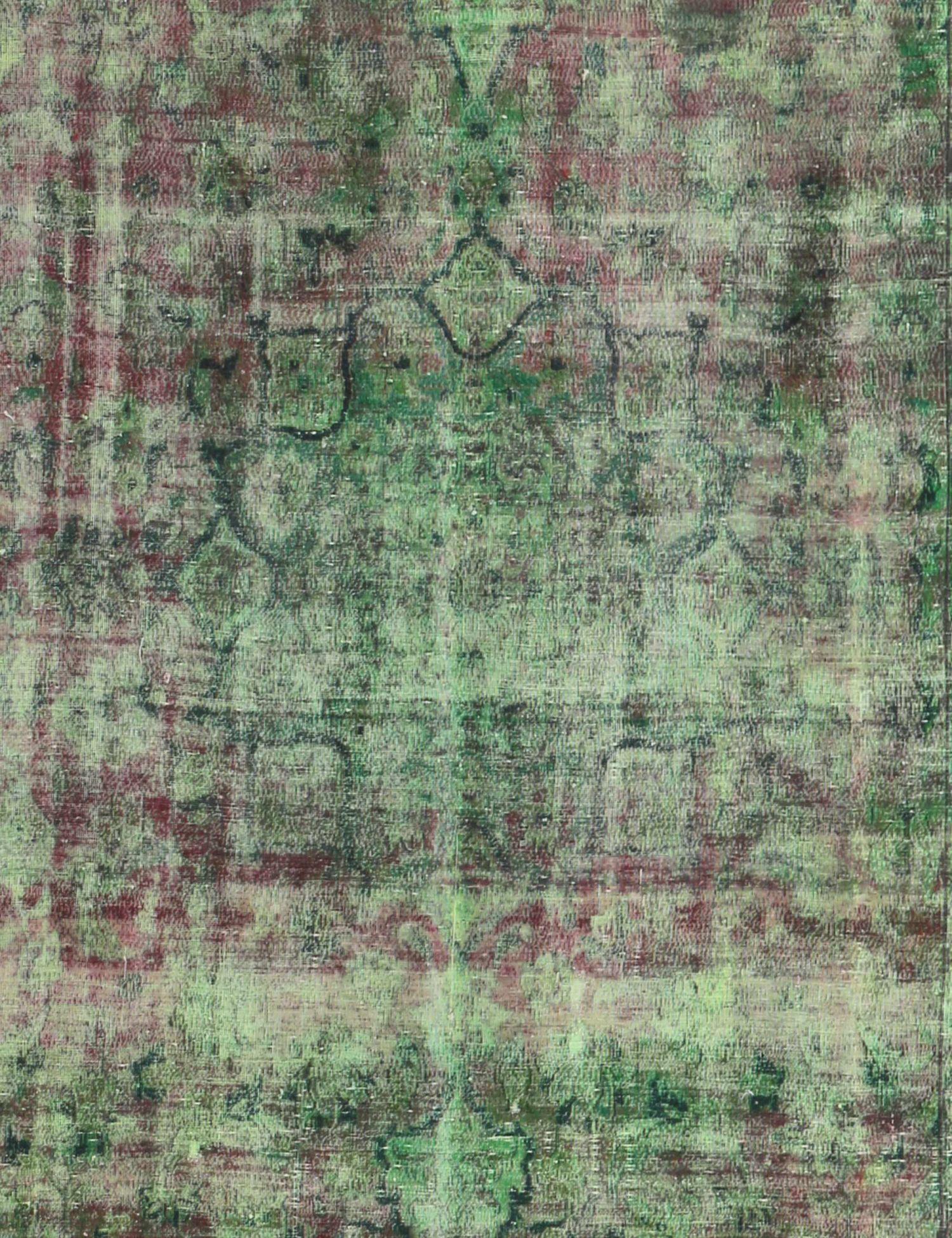 Vintage Teppich  grün <br/>395 x 240 cm