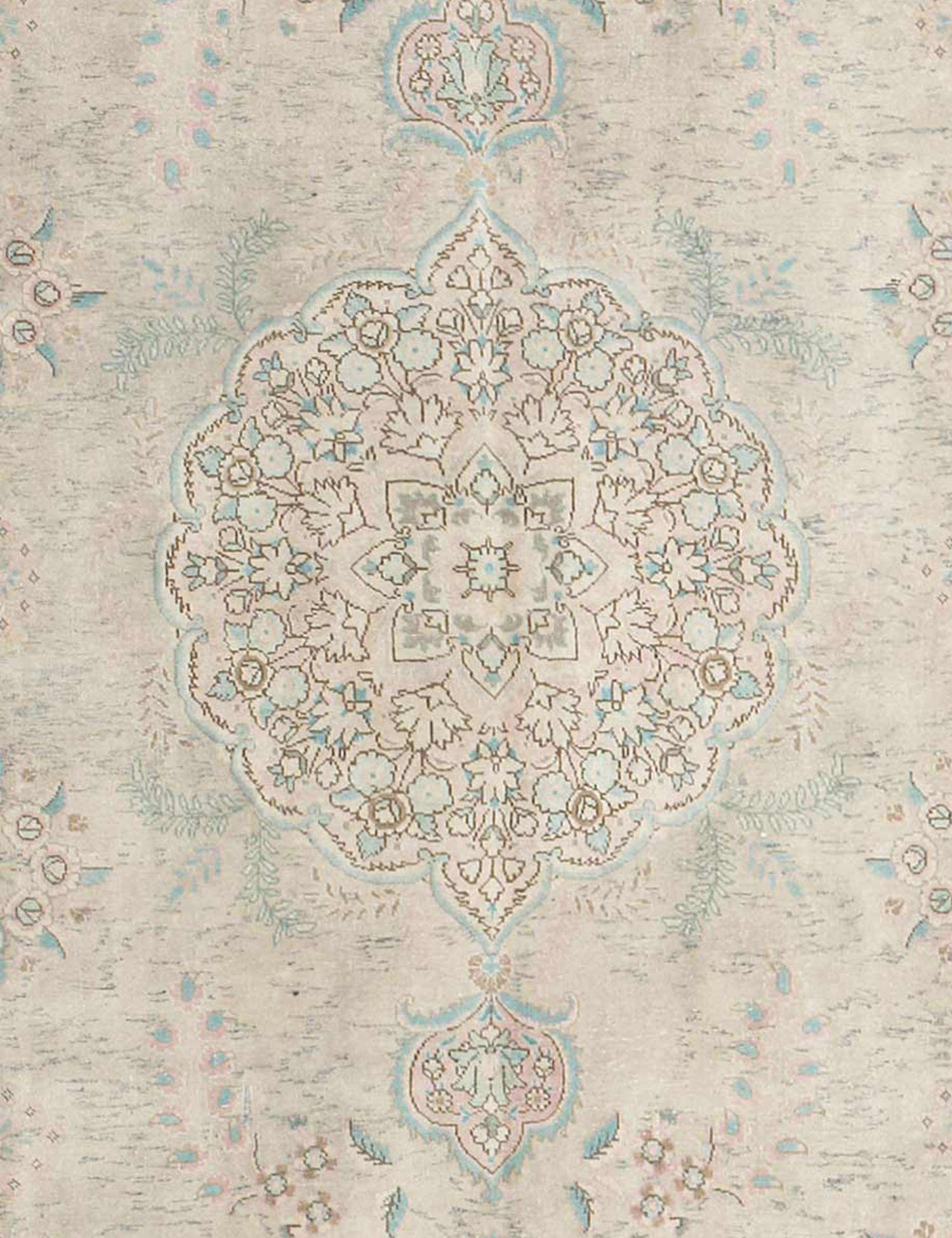 Retro Perserteppich  beige <br/>387 x 307 cm