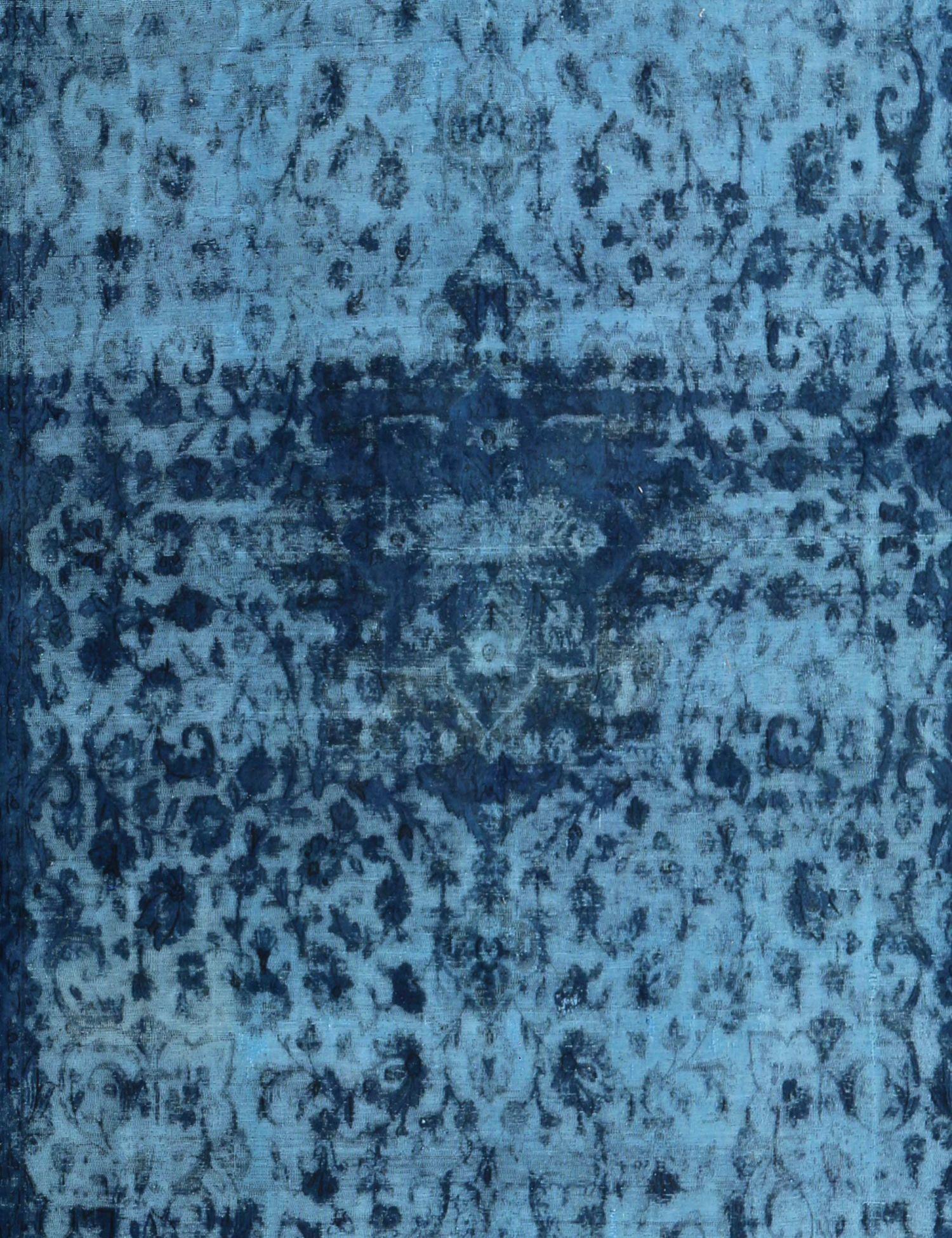 Vintage Teppich  blau <br/>383 x 288 cm