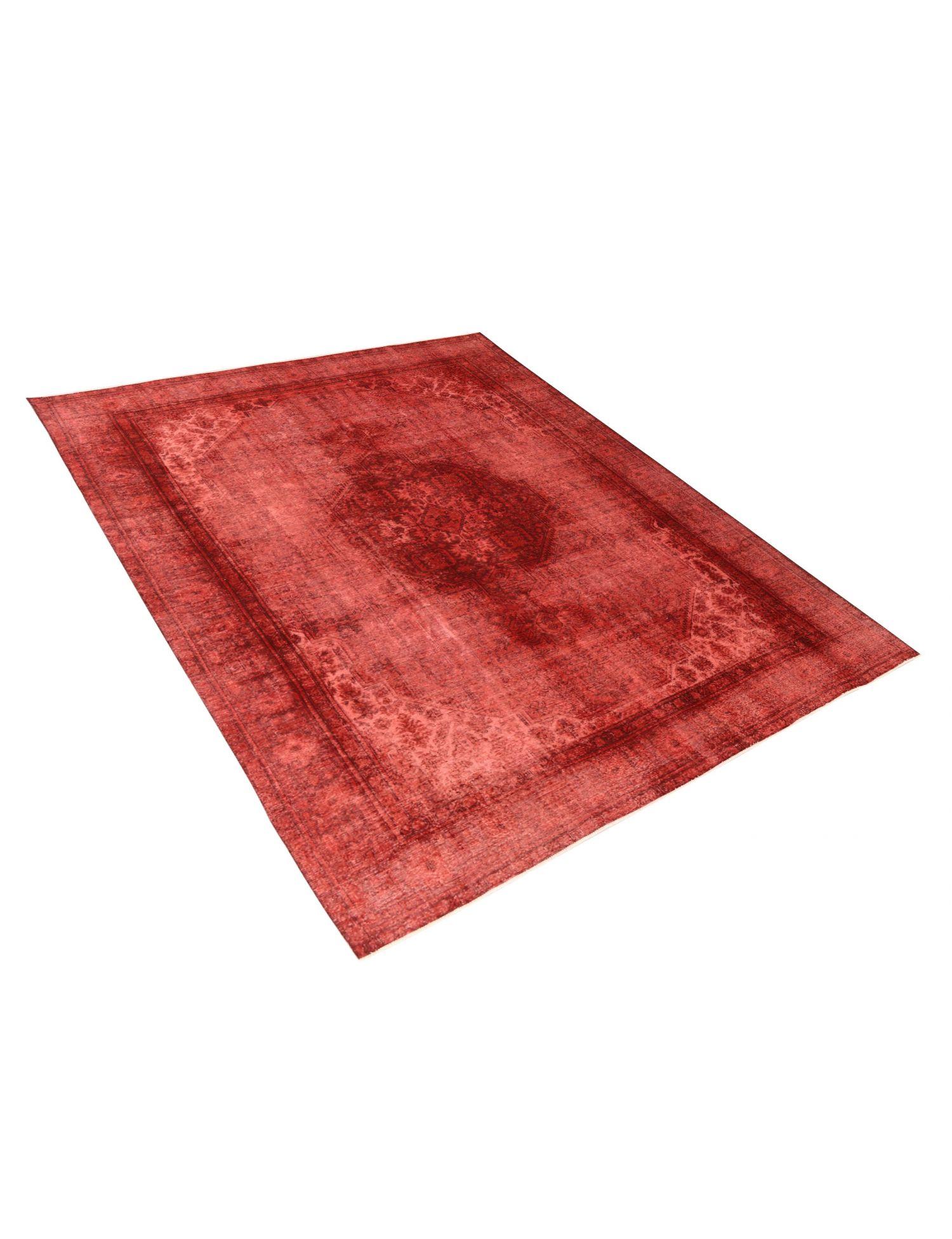 Vintage Teppich  rot <br/>374 x 304 cm