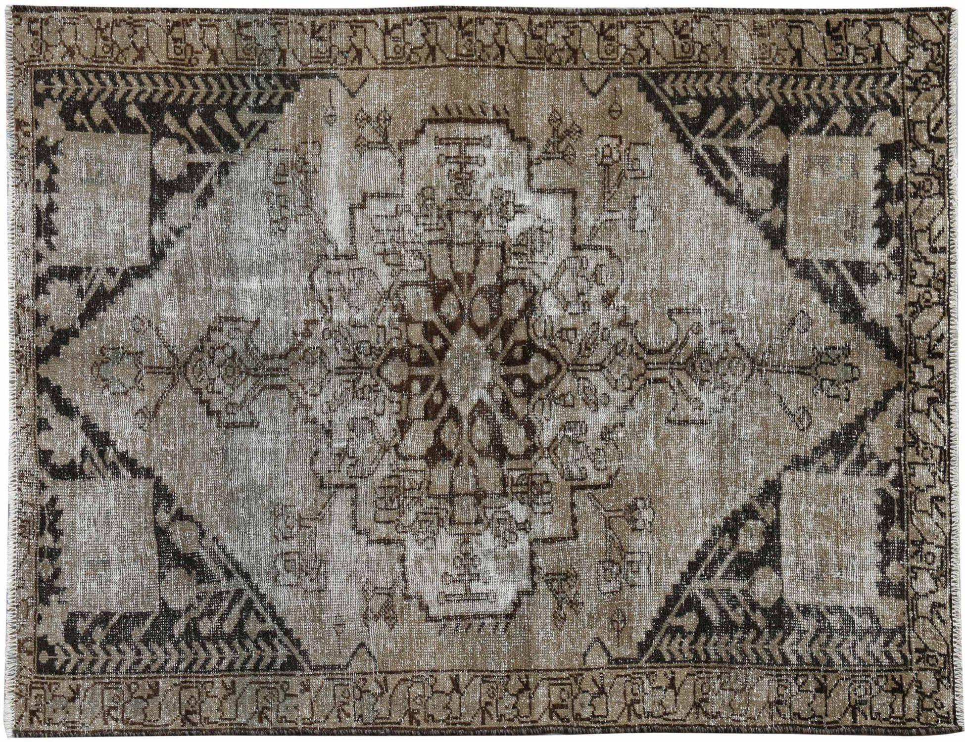 Vintage Teppich  braun <br/>190 x 132 cm