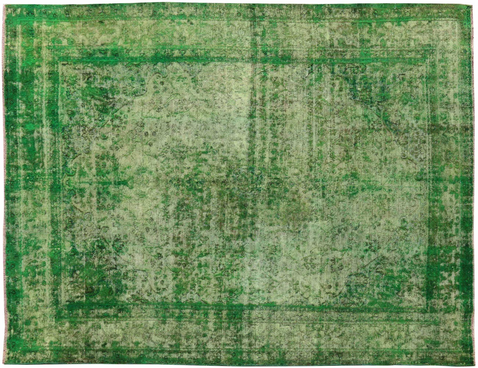 Tappeto Vintage  verde <br/>360 x 290 cm