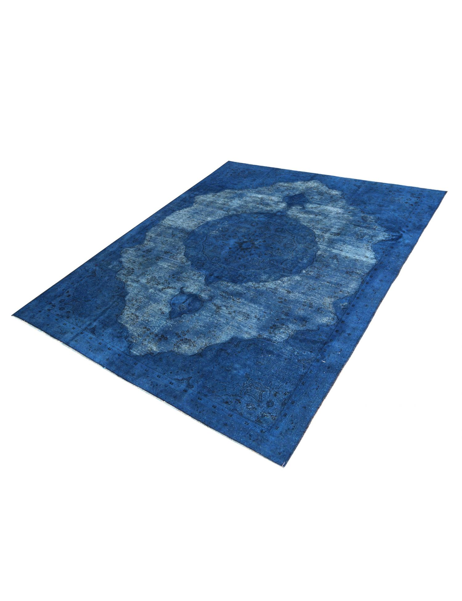 Tappeto Vintage  blu <br/>326 x 206 cm