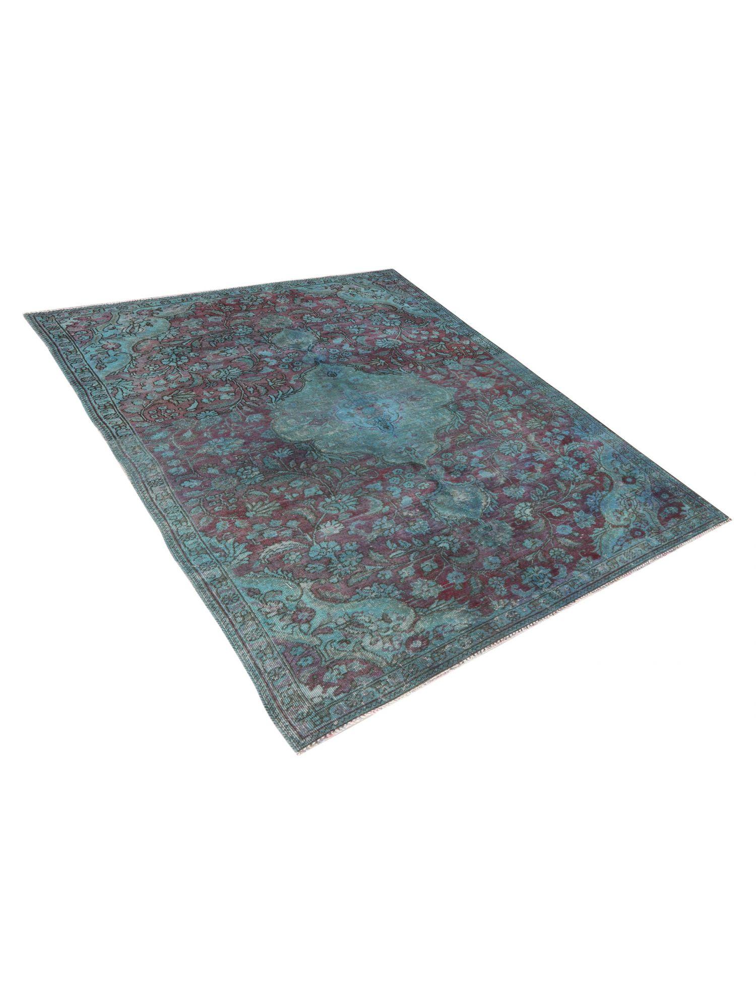Vintage Teppich  blau <br/>247 x 147 cm