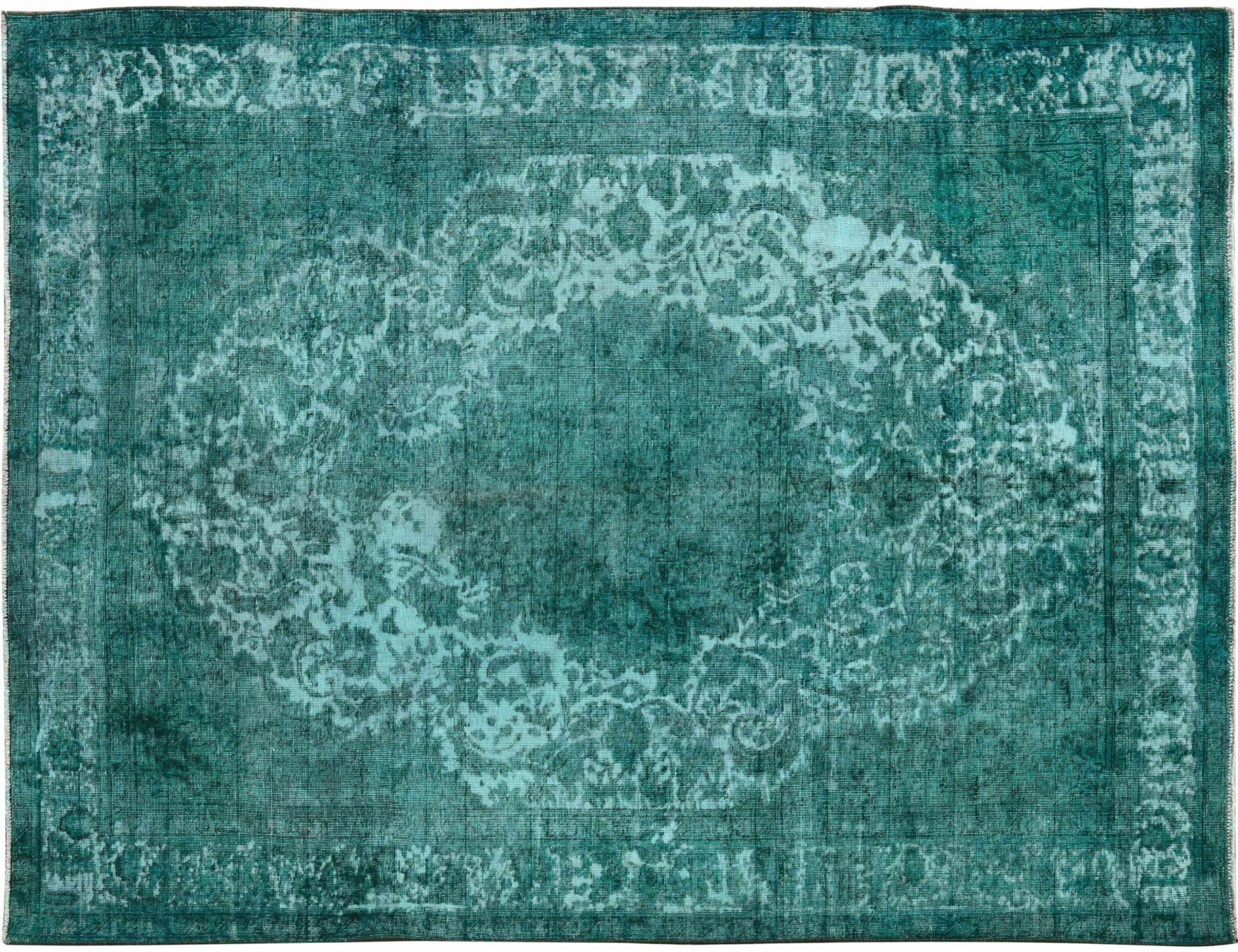 Vintage Teppich  grün <br/>281 x 203 cm