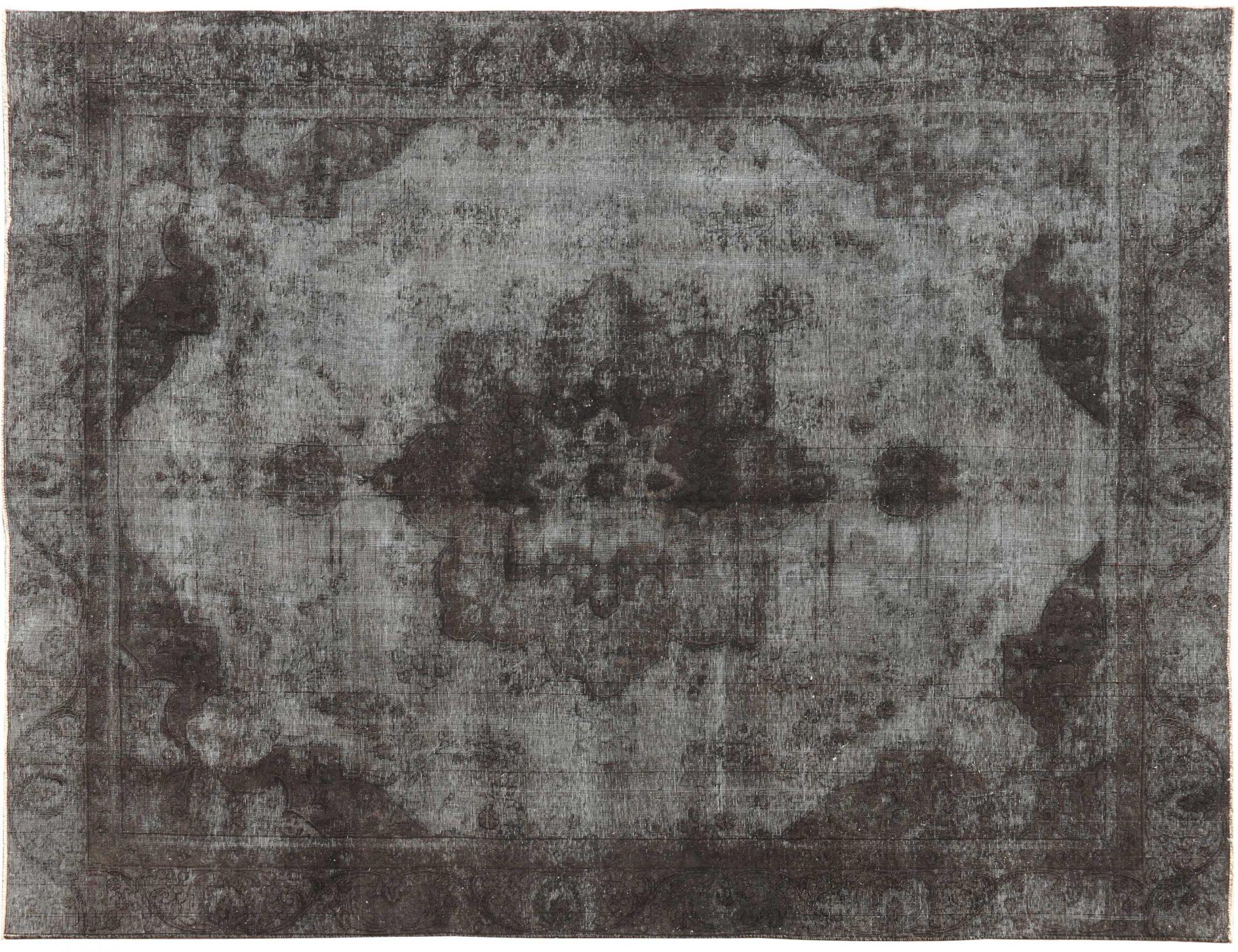 Vintage Teppich  schwarz <br/>367 x 263 cm