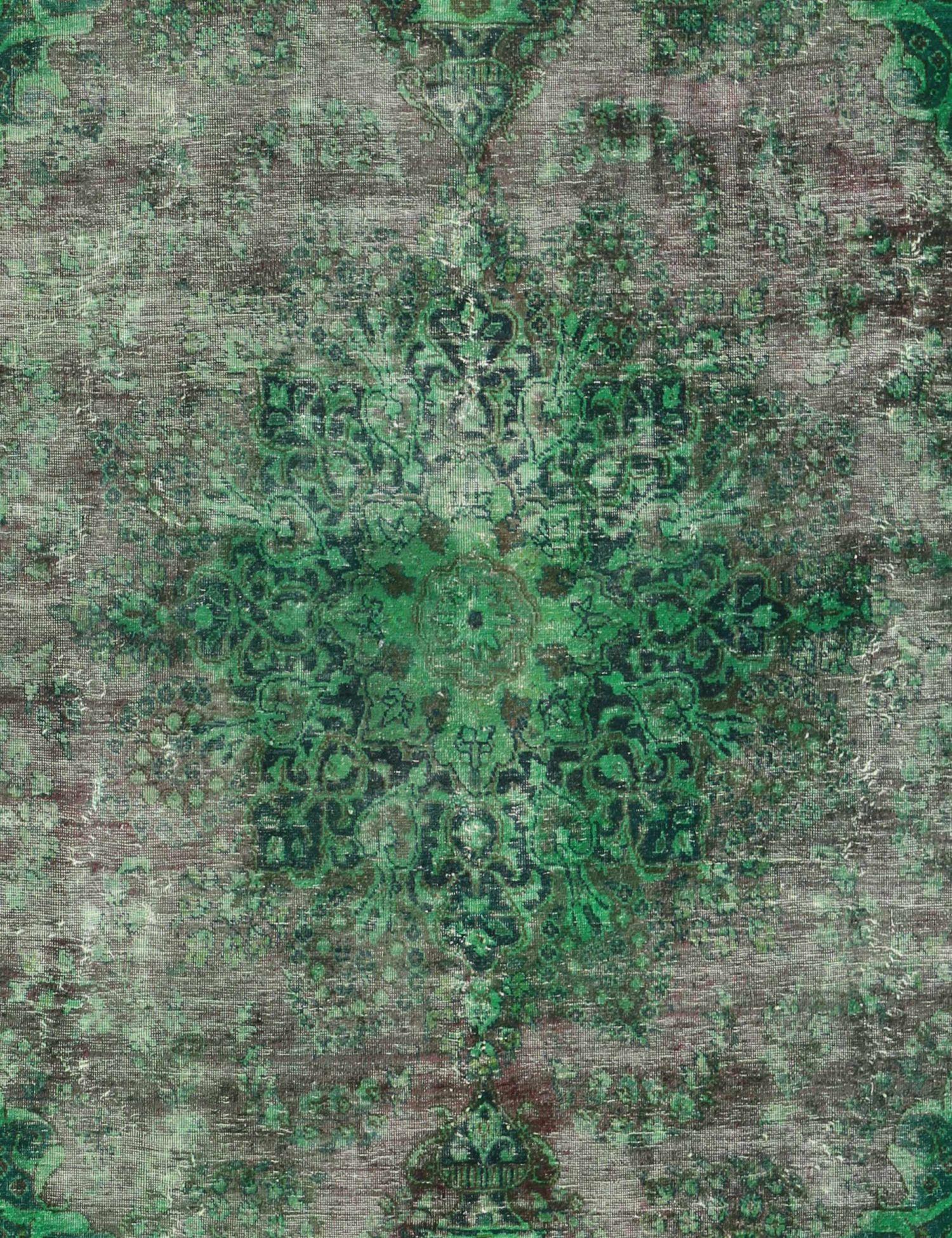 Vintage Teppich  grün <br/>280 x 196 cm