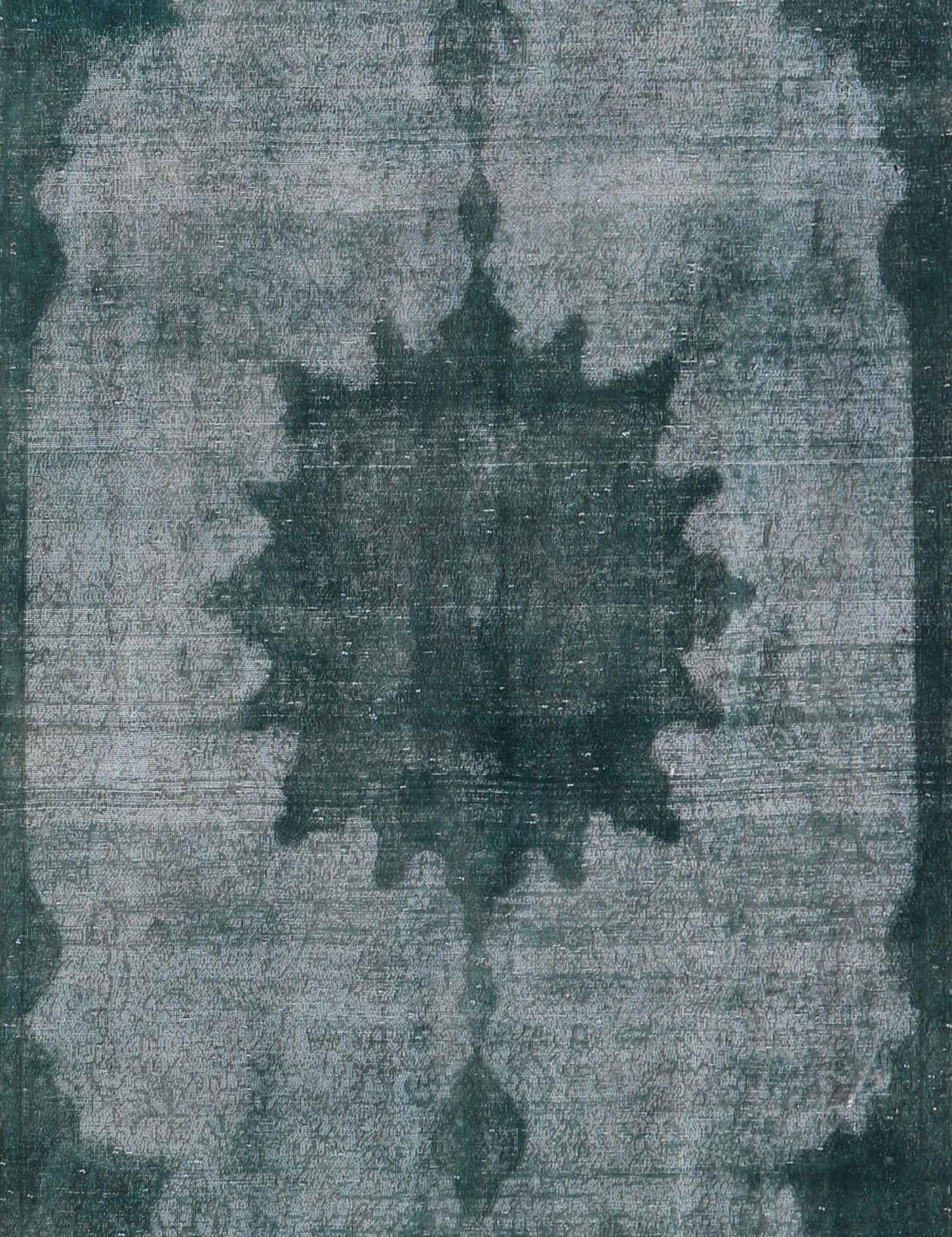 Vintage Teppich  grün <br/>392 x 285 cm