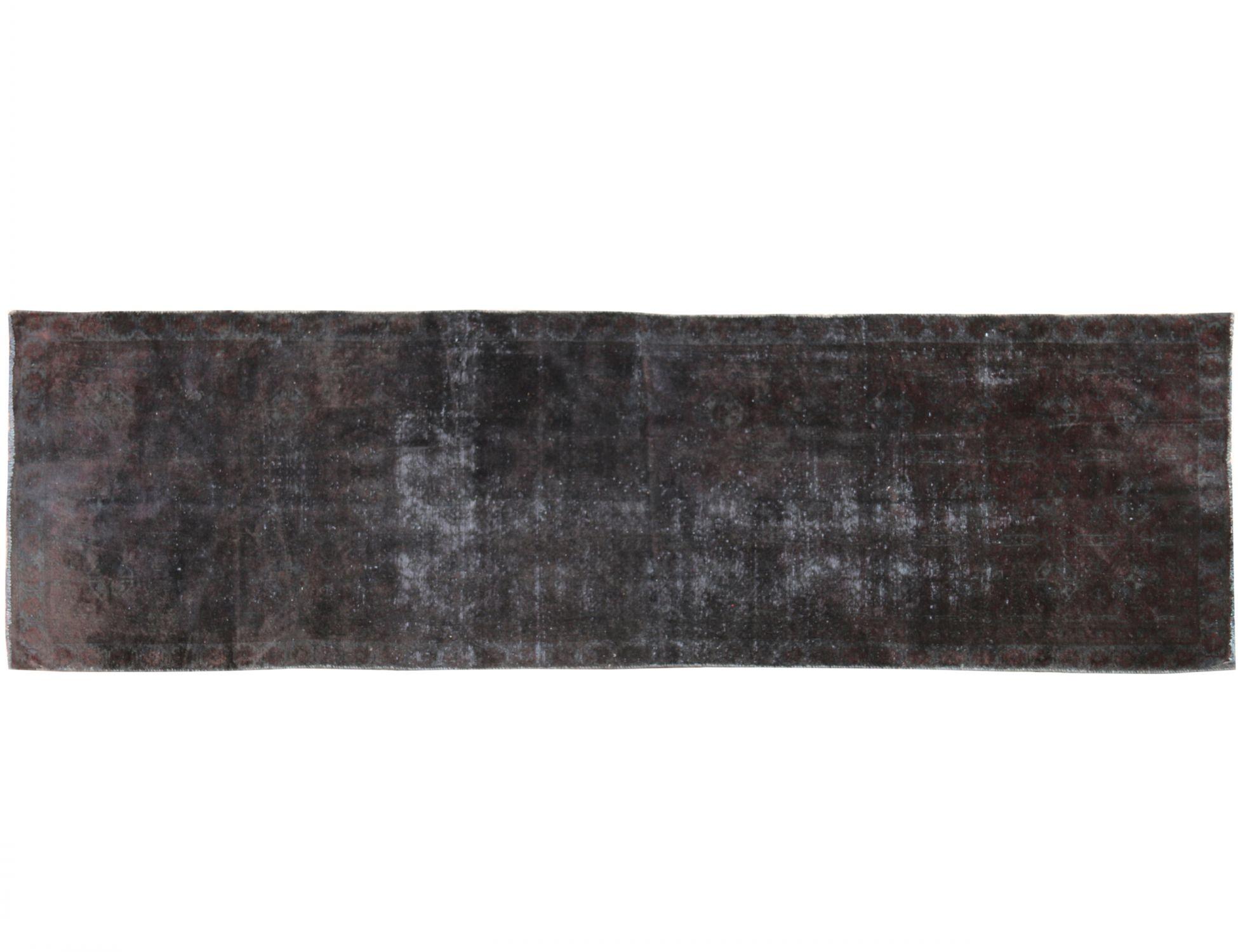 Tappeto Vintage  nero <br/>322 x 100 cm