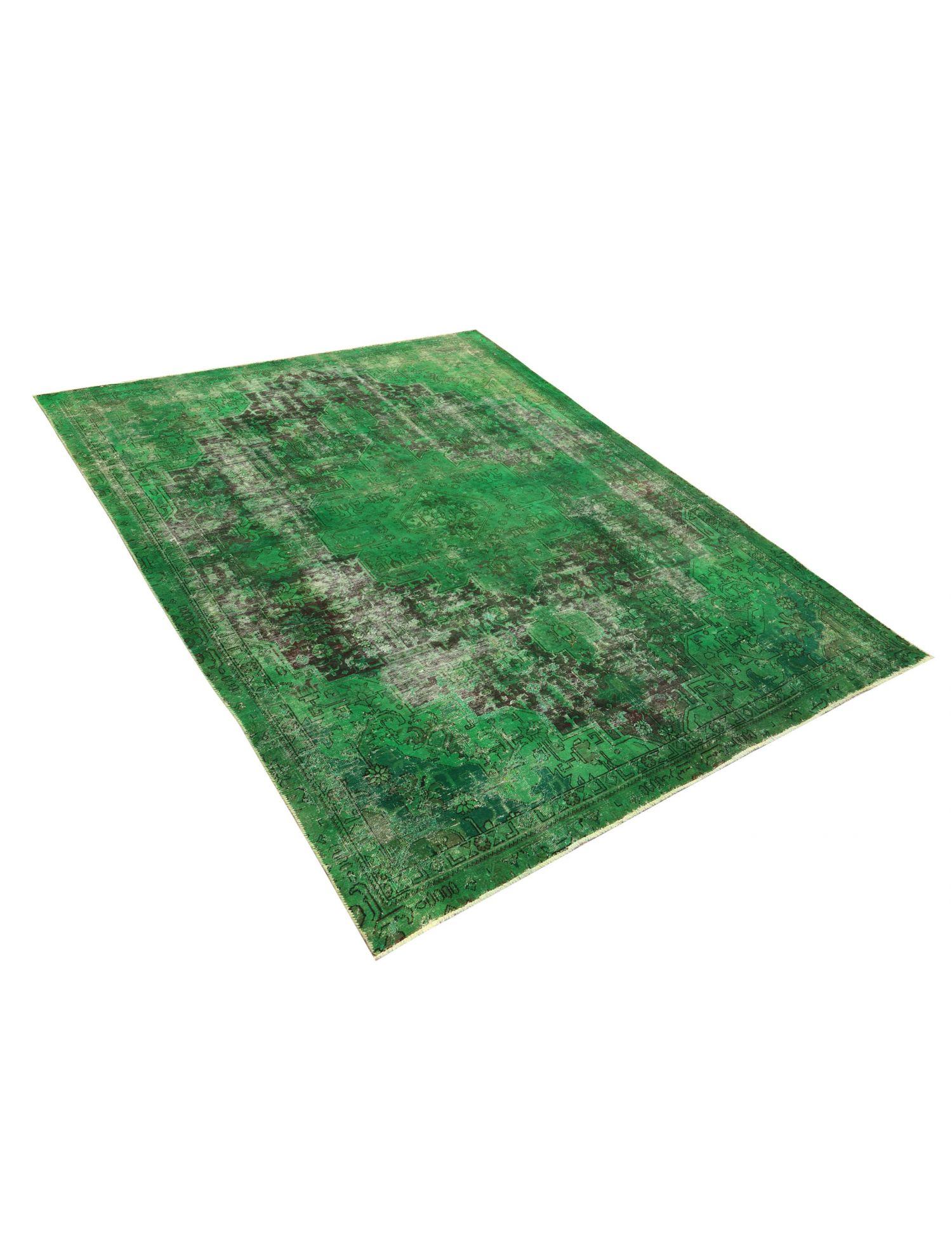 Vintage Teppich  grün <br/>350 x 245 cm