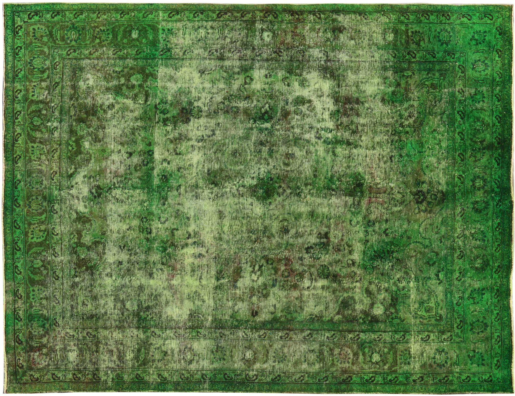 Tappeto Vintage  verde <br/>328 x 250 cm