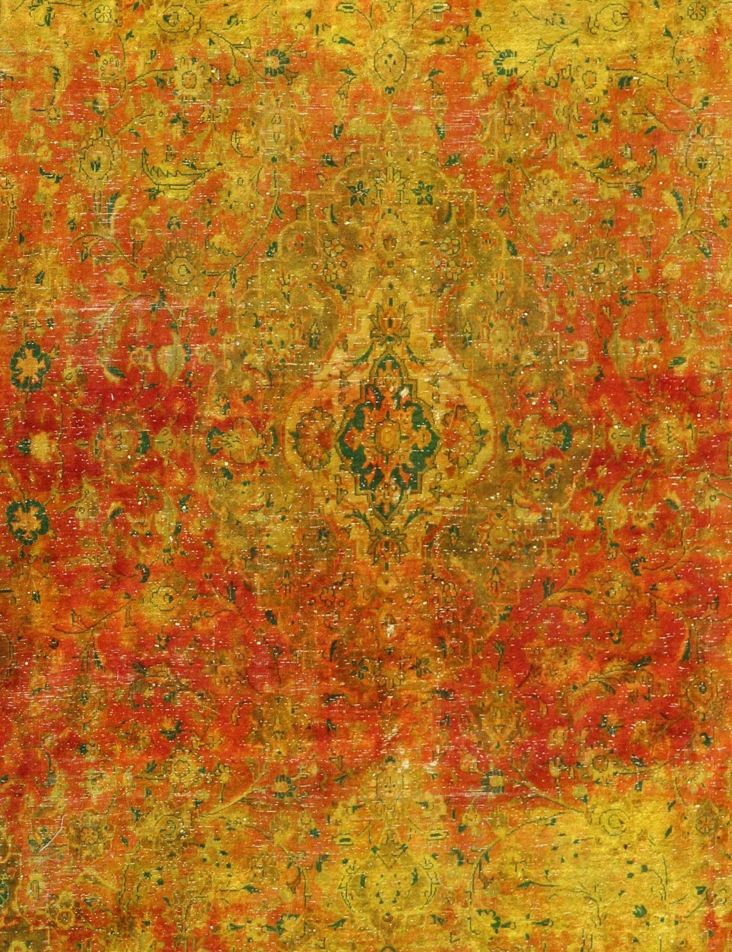 Tappeto Vintage  giallo <br/>337 x 240 cm