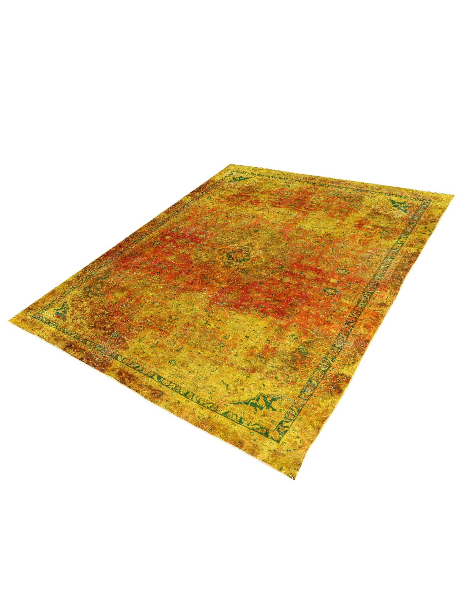 Vintage Teppich  gelb <br/>337 x 240 cm