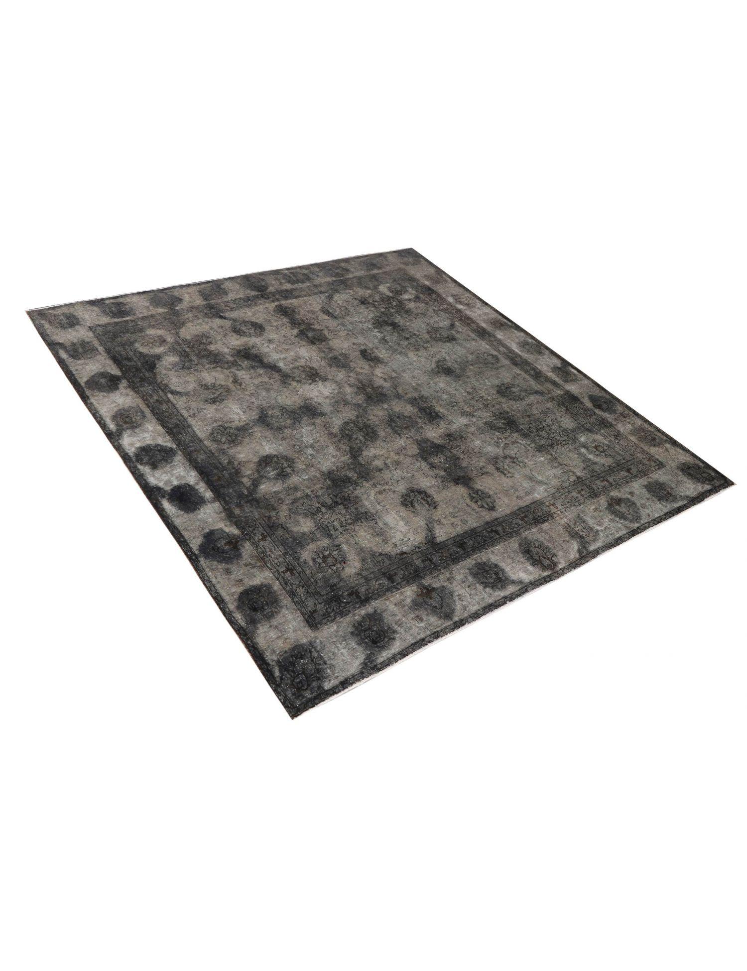 Vintage Teppich   schwarz <br/>273 x 273 cm