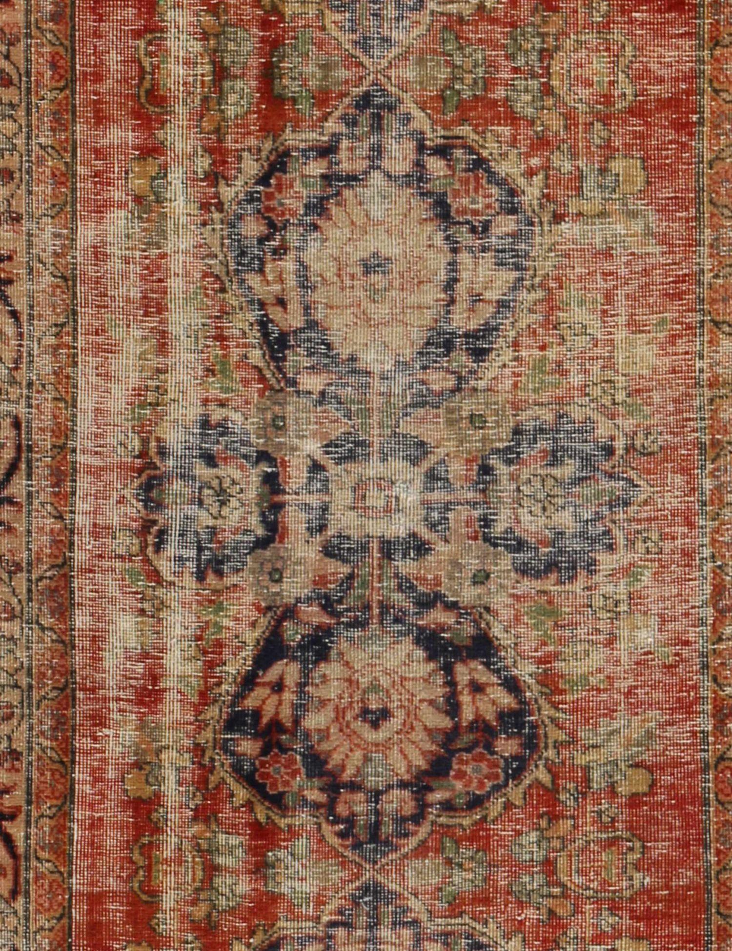 Retro Perserteppich  braun <br/>320 x 104 cm