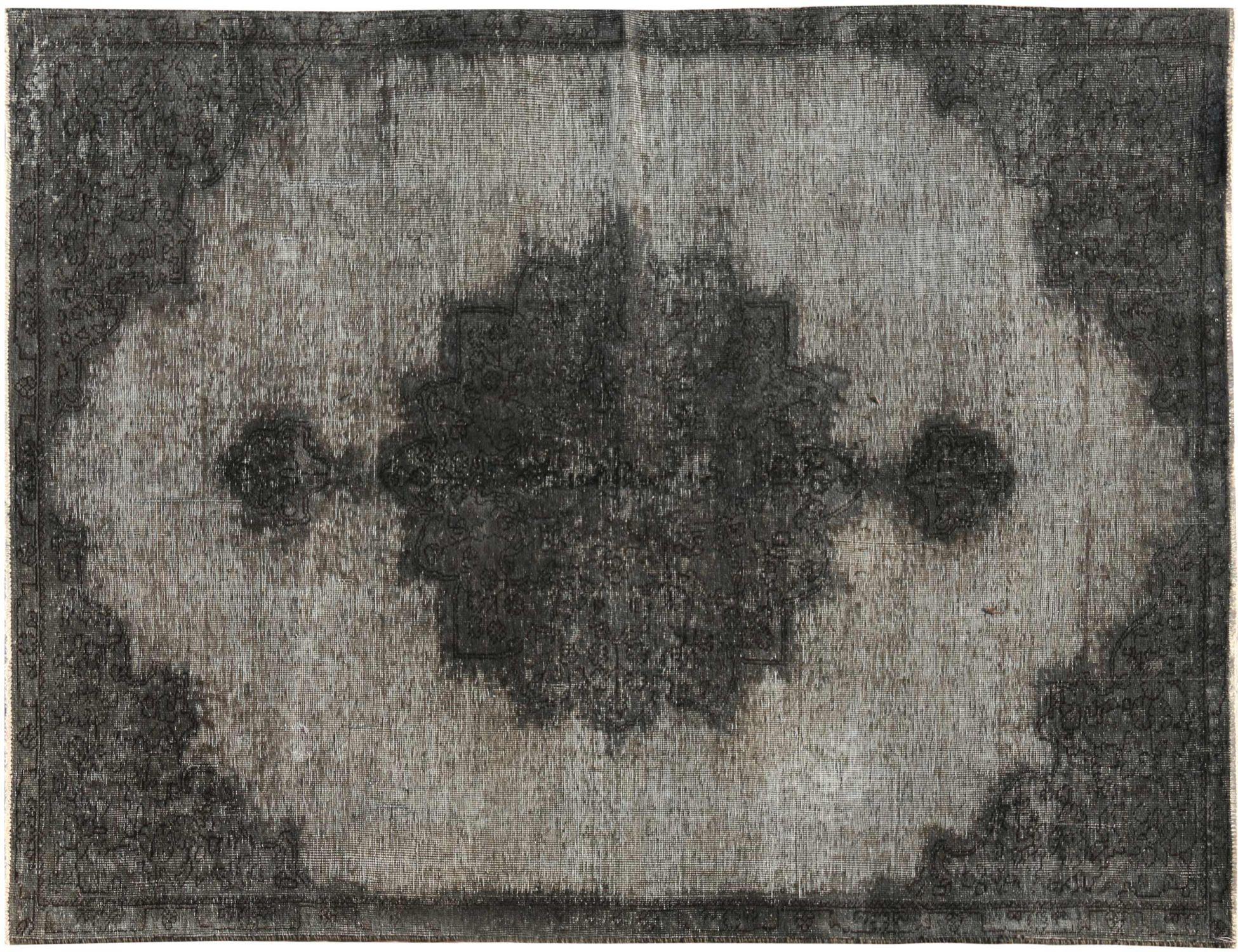 Vintage Teppich  schwarz <br/>243 x 154 cm
