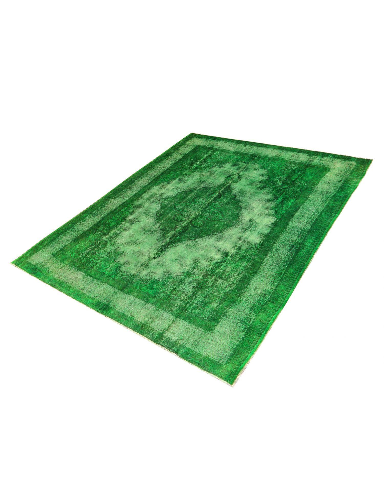 Vintage Teppich  grün <br/>433 x 348 cm