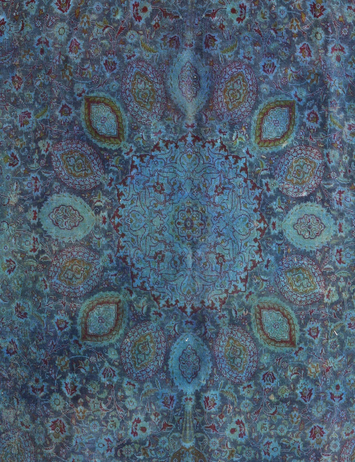 Tappeto Vintage  blu <br/>317 x 223 cm