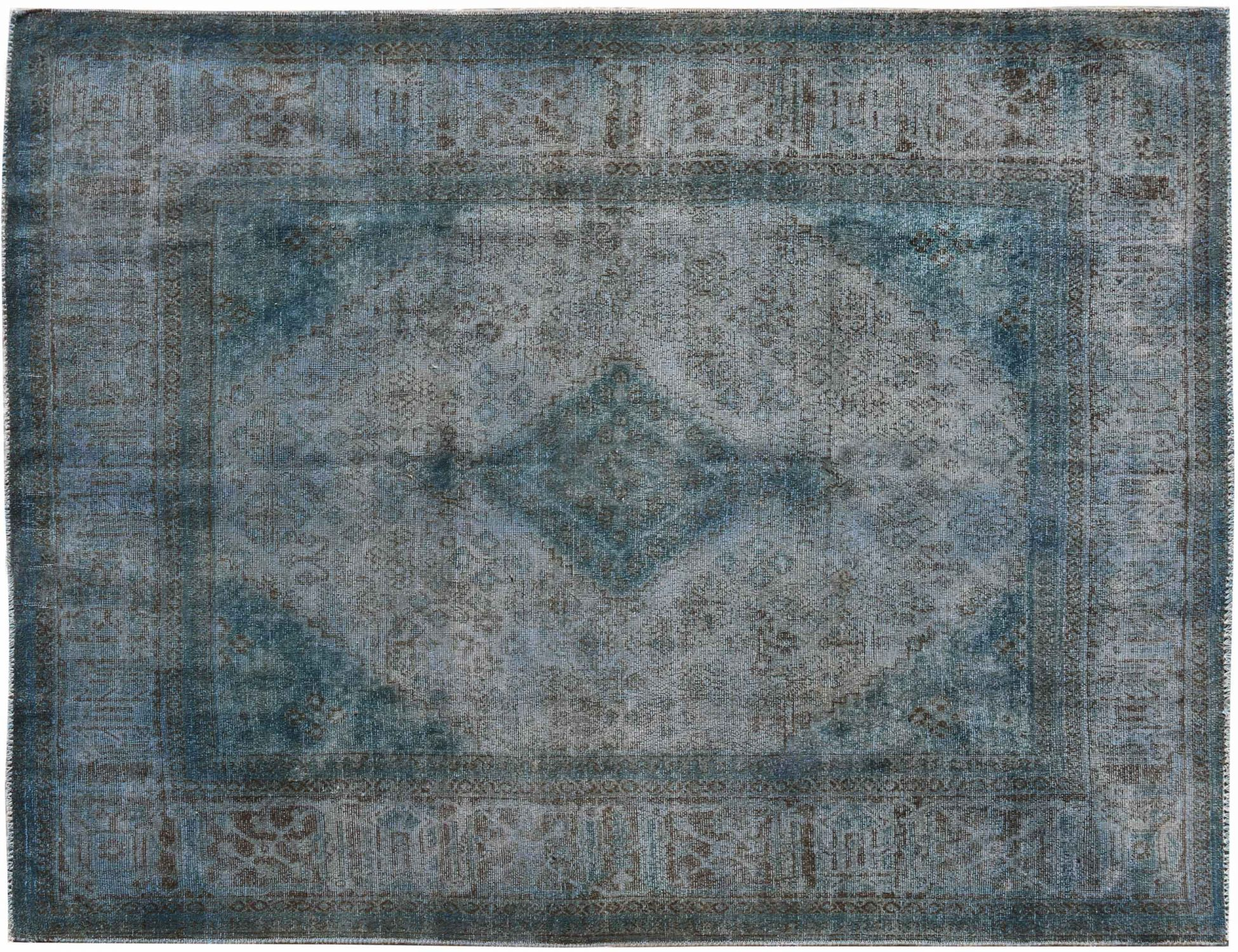 Vintage Teppich  blau <br/>308 x 216 cm