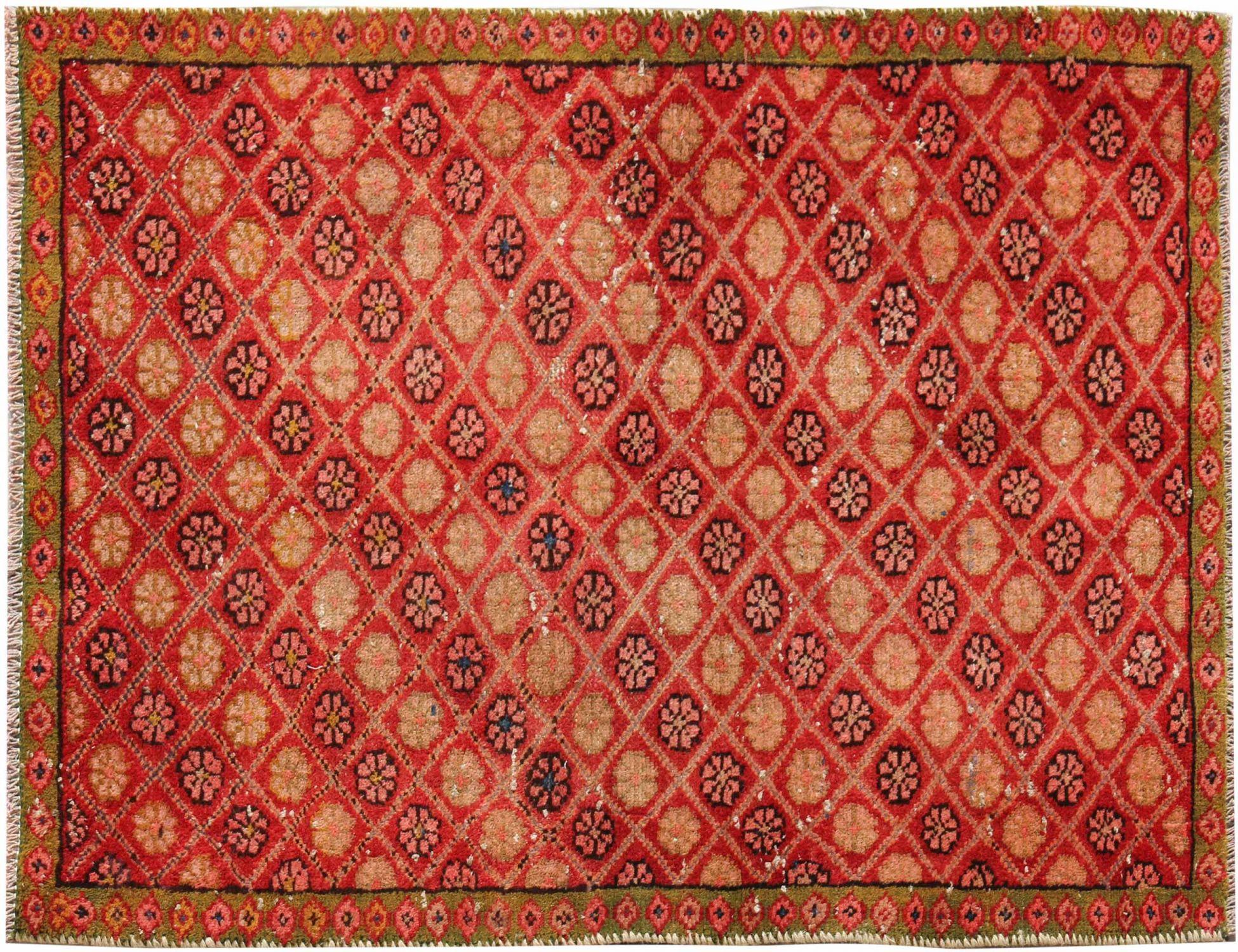 Retro Perserteppich  rot <br/>134 x 92 cm