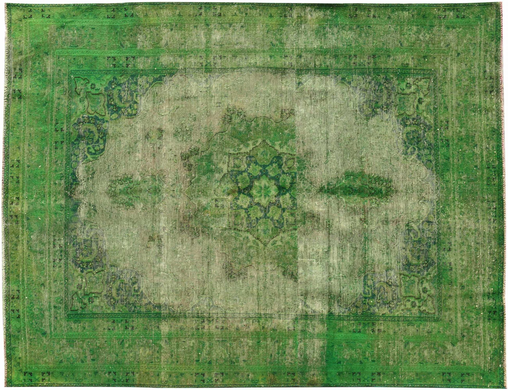 Tappeto Vintage  verde <br/>268 x 186 cm