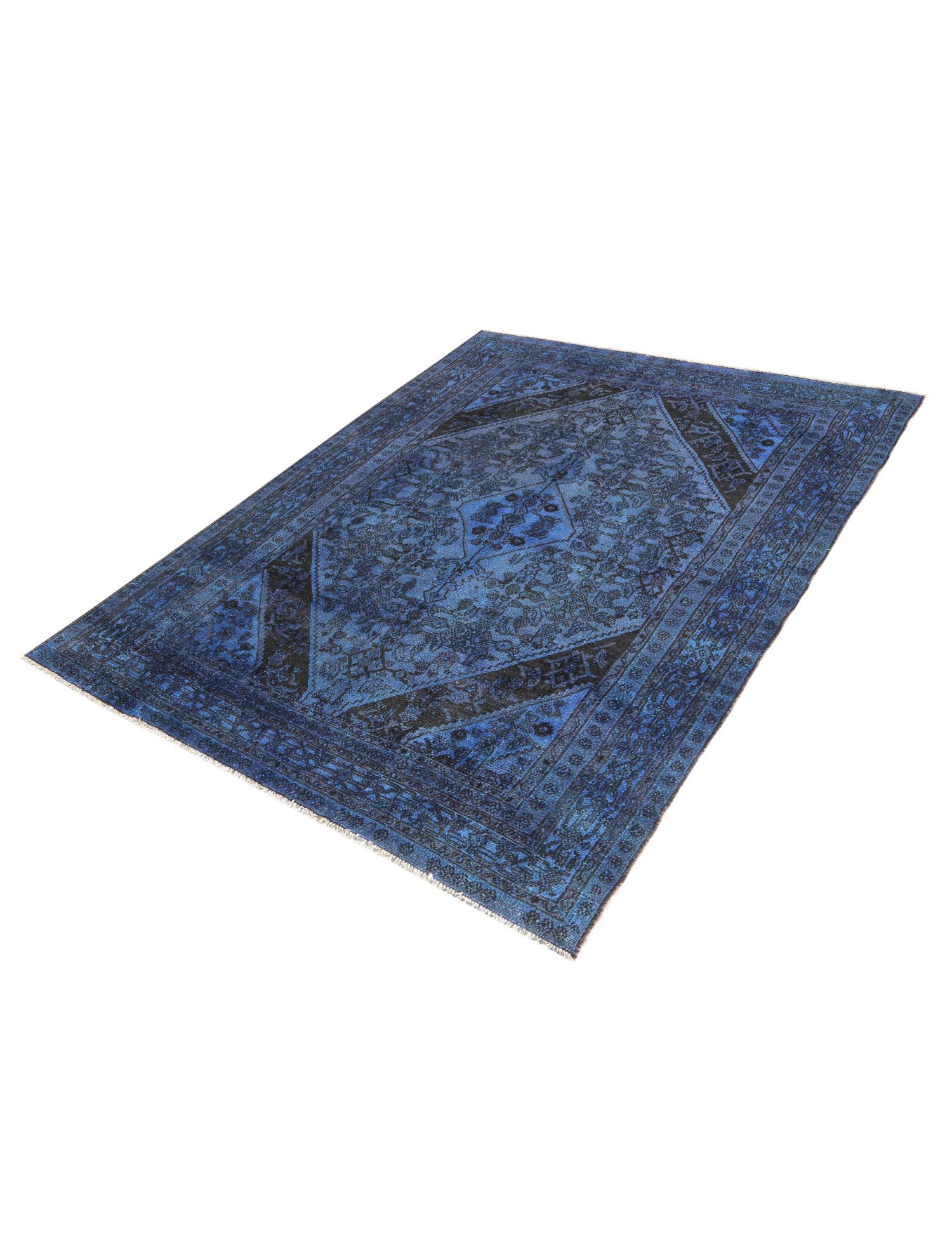 Tappeto Vintage  blu <br/>302 x 200 cm