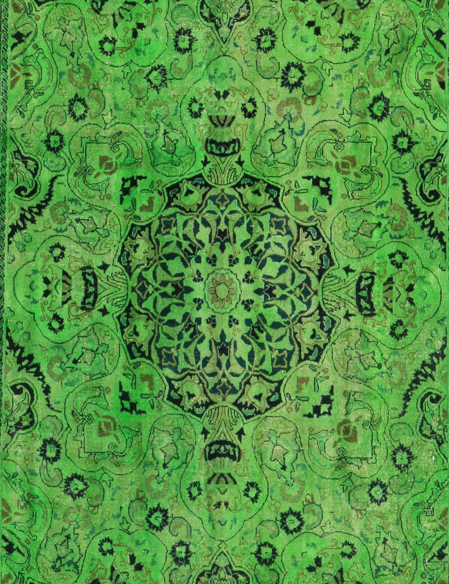 Tappeto Vintage  verde <br/>375 x 275 cm