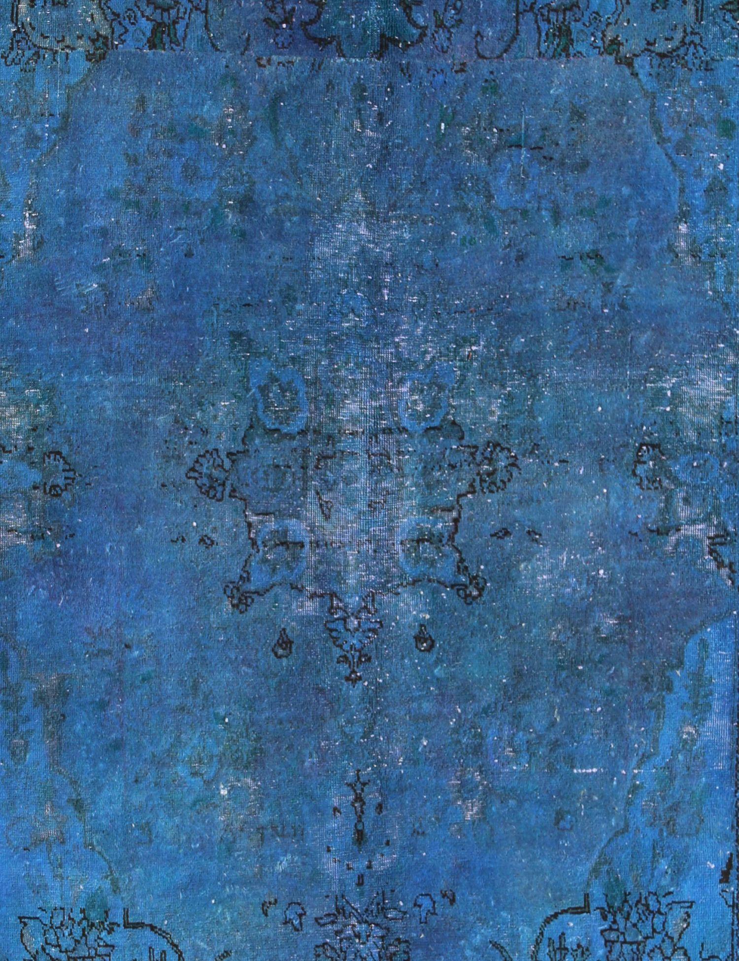 Vintage Teppich  blau <br/>255 x 180 cm